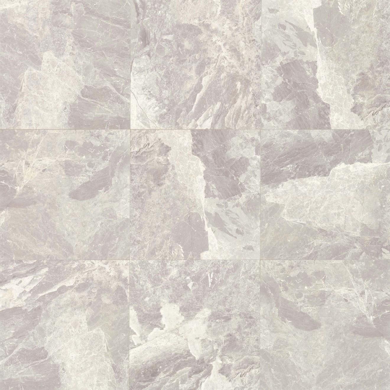 Classic 18 X 18 Floor Wall Tile In Bardiglietto