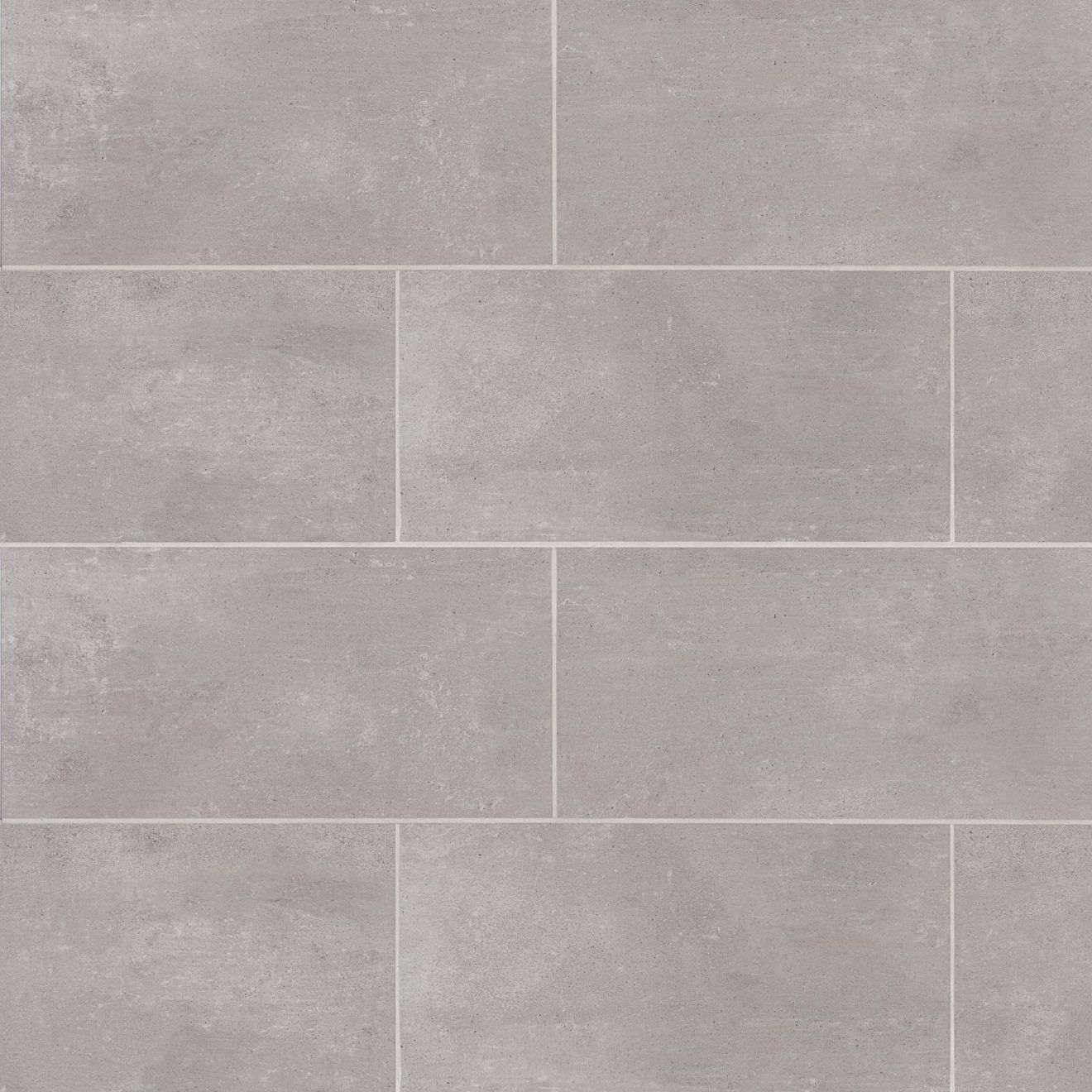 Simply Modern 12 X 24 Floor Wall Tile In Grey