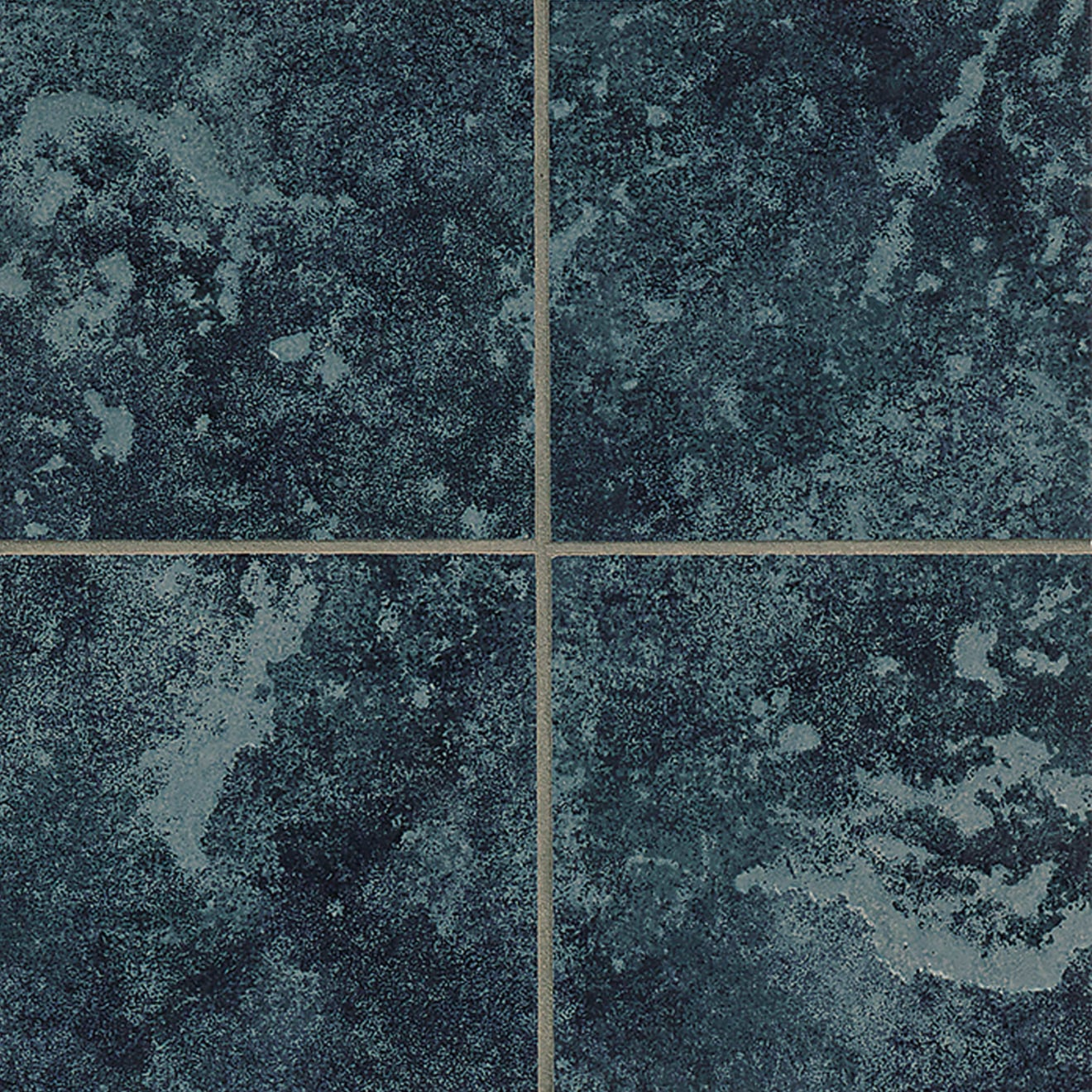 Pool Tile X X Floor And Wall Tile In Turquoise - 6x6 black floor tile