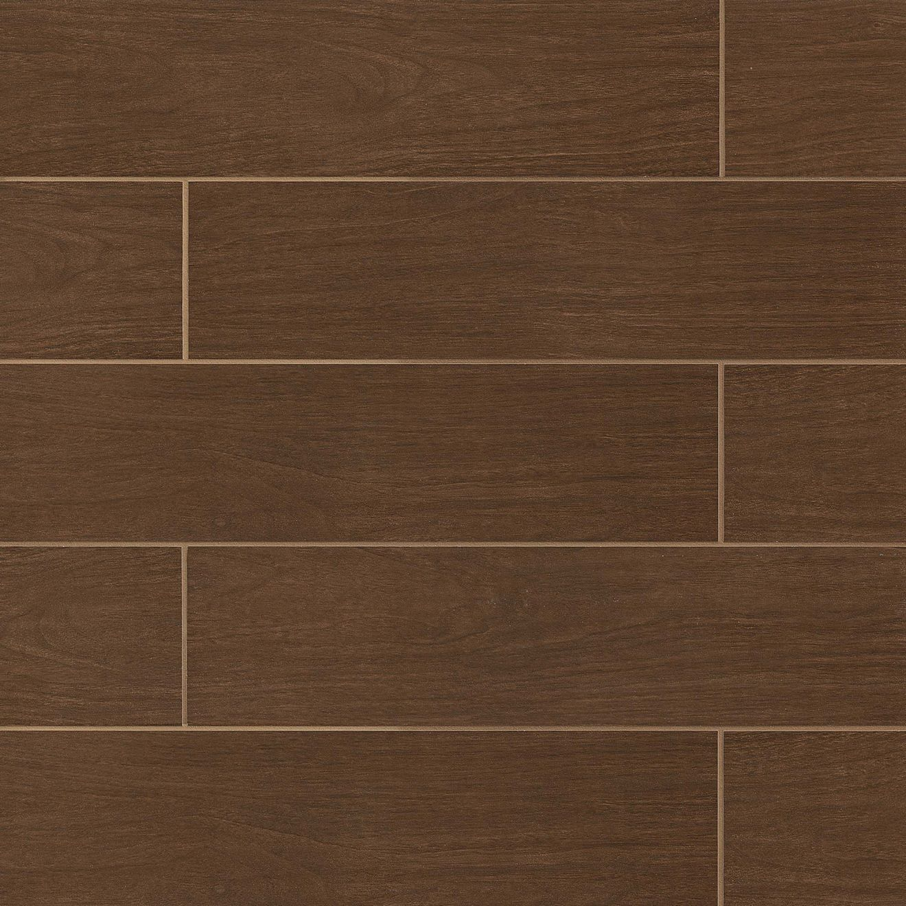 Heathland Collection 6 X 24 X 38 Floor And Wall Tile In Walnut