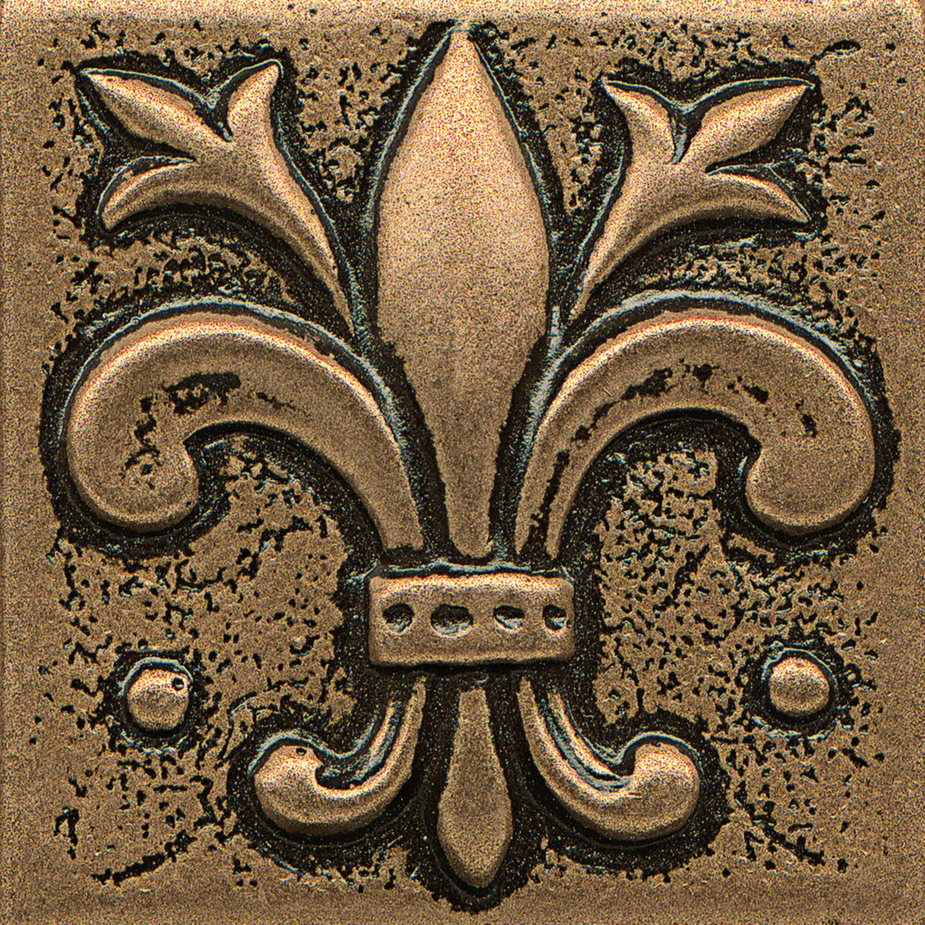 "Bedrosians  Ambiance Series 2"" x 2"" Tile in Bronze"