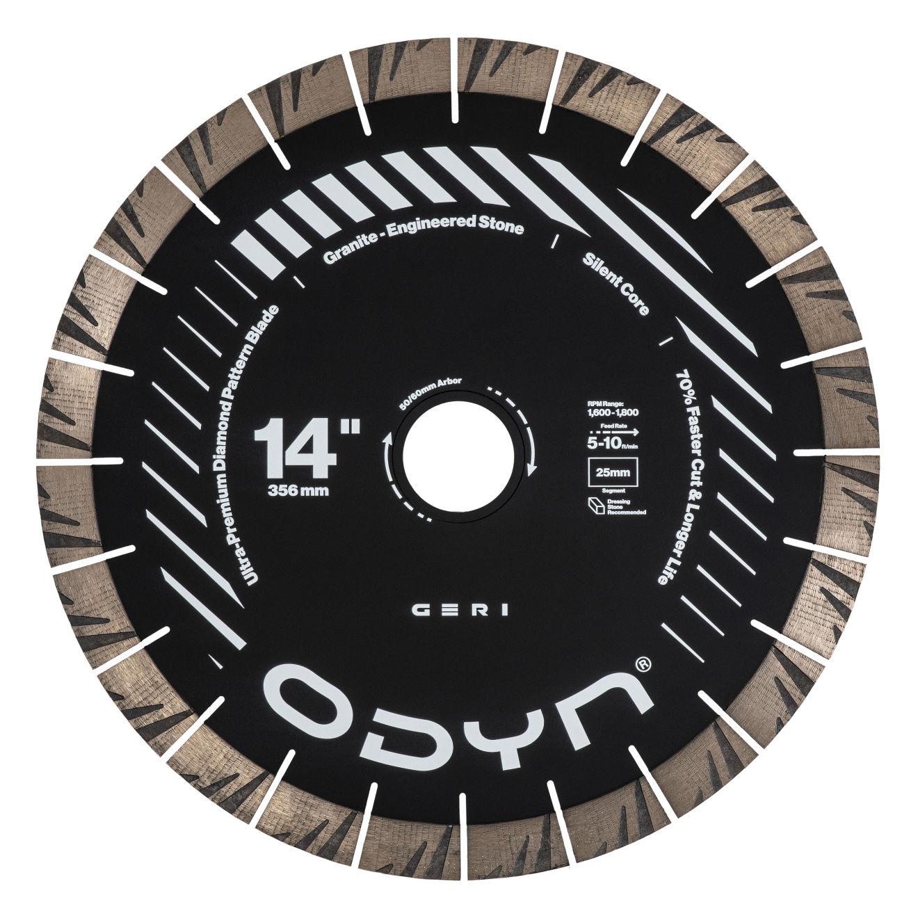 """Odyn 14"""" Geri Ultra-Premium Granite Blade"""