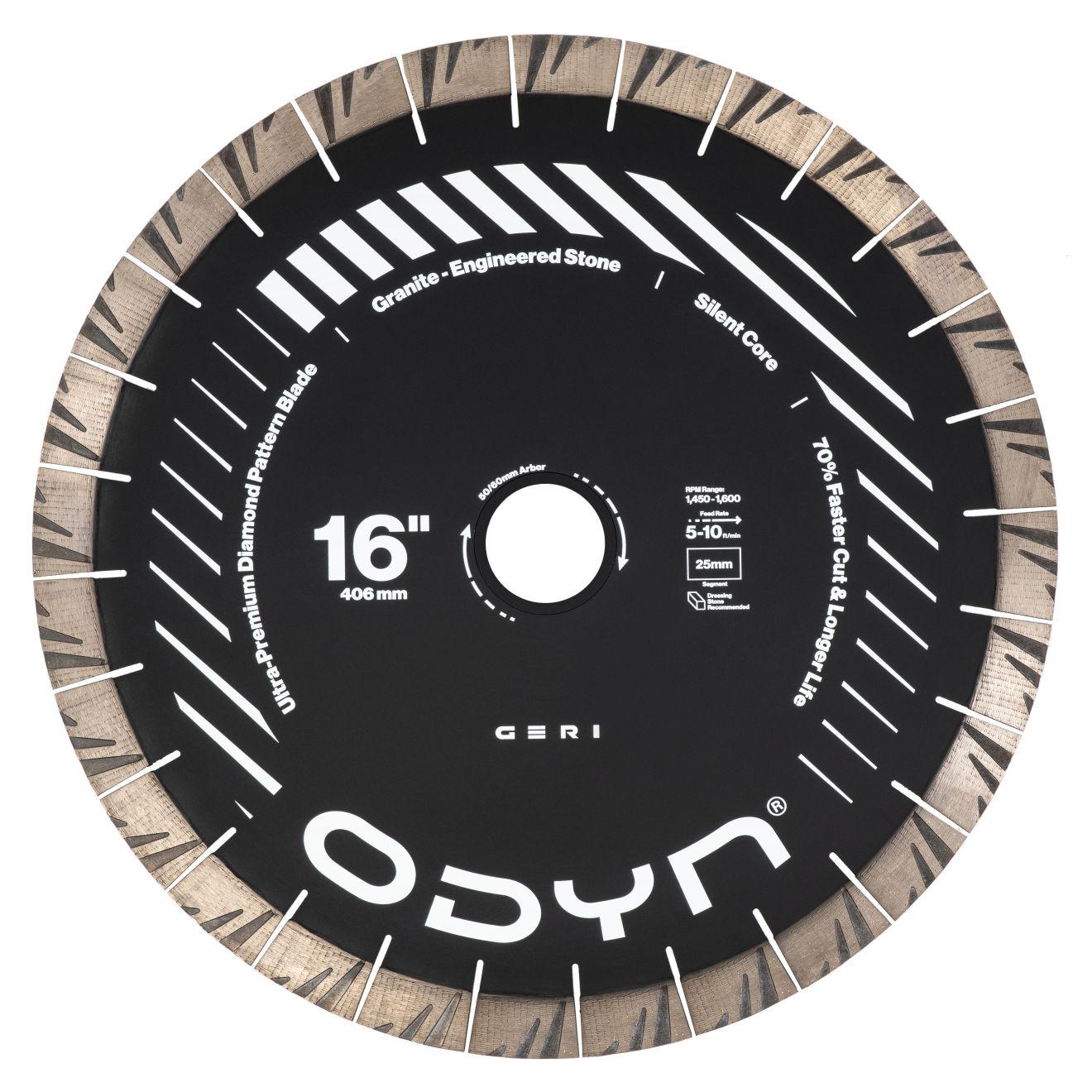 """Odyn 16"""" Geri Ultra-Premium Granite Blade"""
