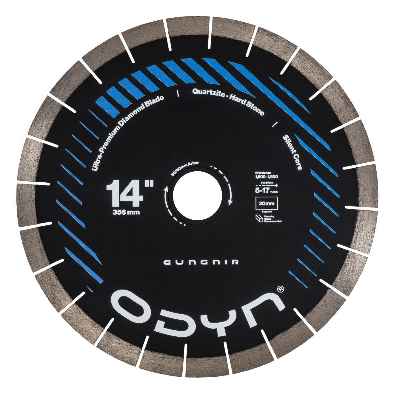 """Odyn 14"""" Gungnir Ultra-Premium Quartzite Blade"""