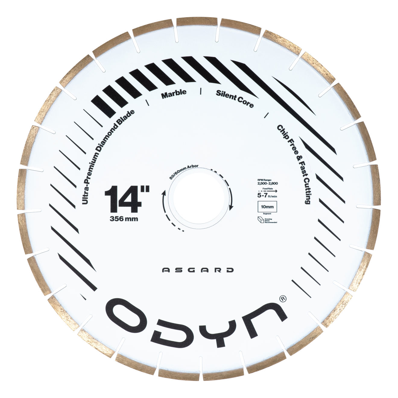 "Odyn 14"" Asgard Ultra-Premium Marble Blade"