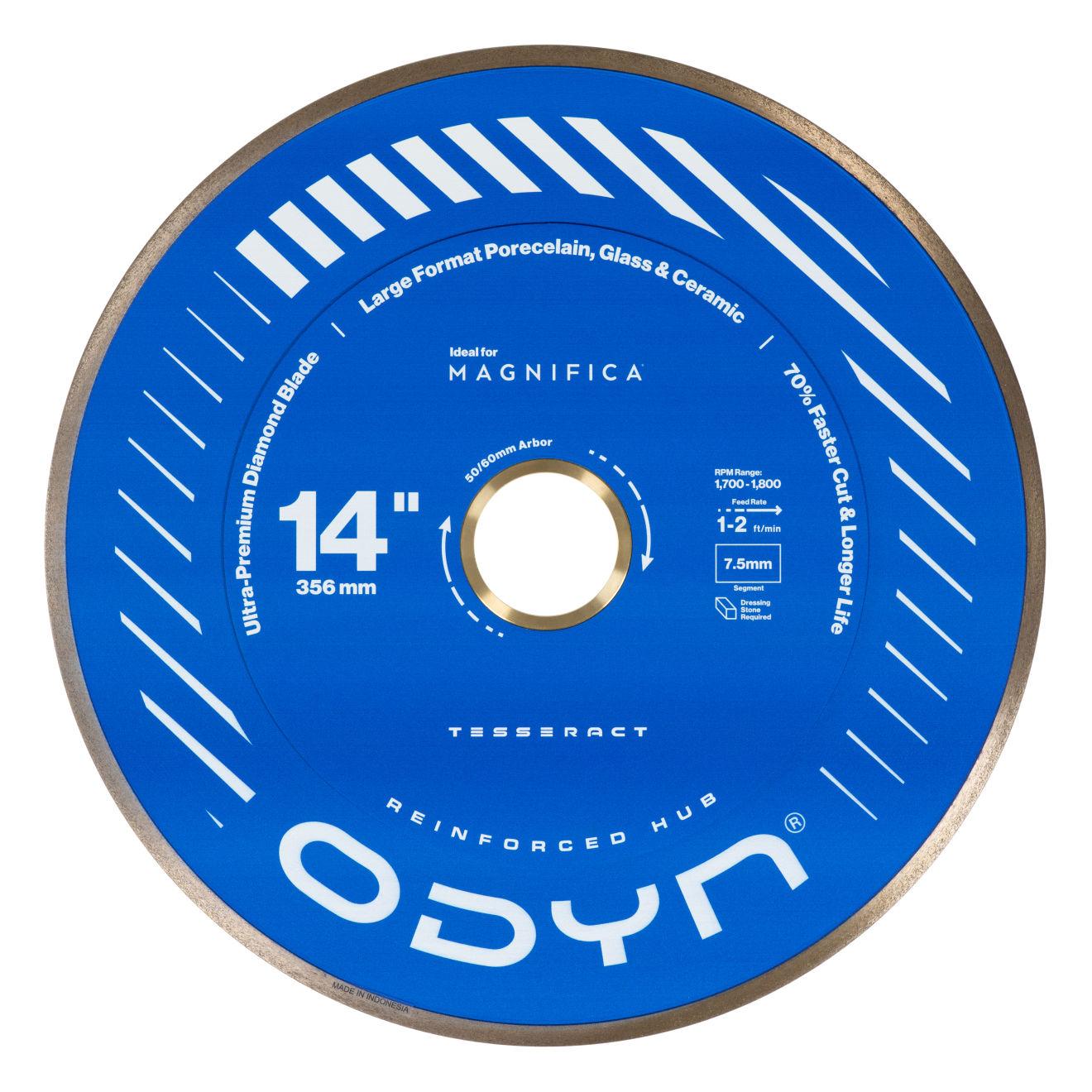 "Odyn 14"" Tesseract Ultra-Premium Porcelain Blade"
