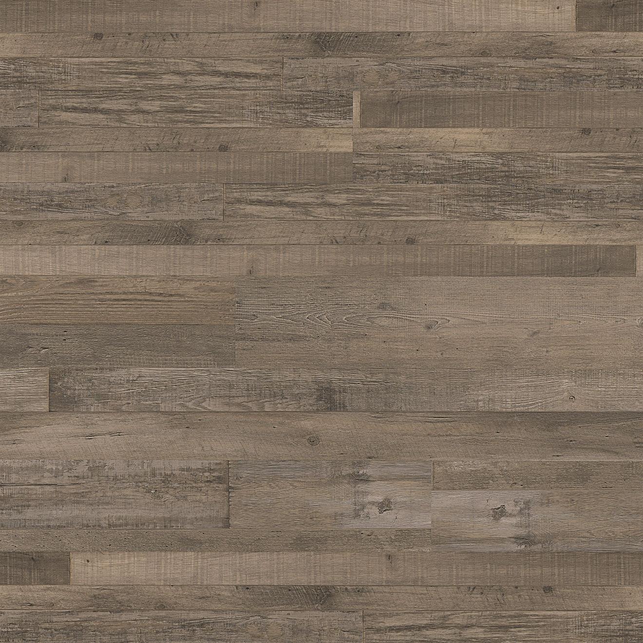 """Madera 7""""x48"""" Luxury SPC Vinyl Flooring in Brown Oak"""