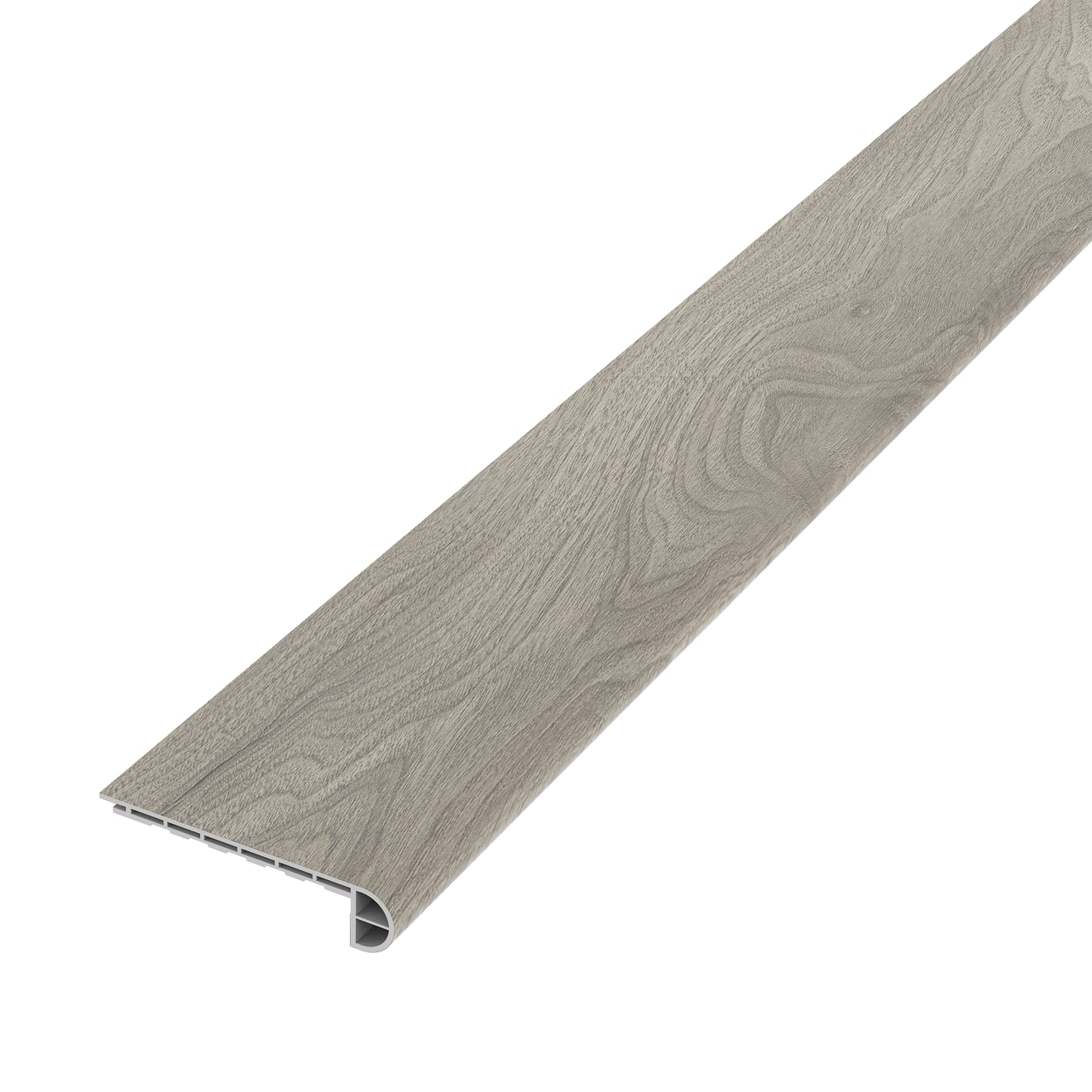 Cassio Luxury SPC Vinyl Stair Nose Trim in Grey