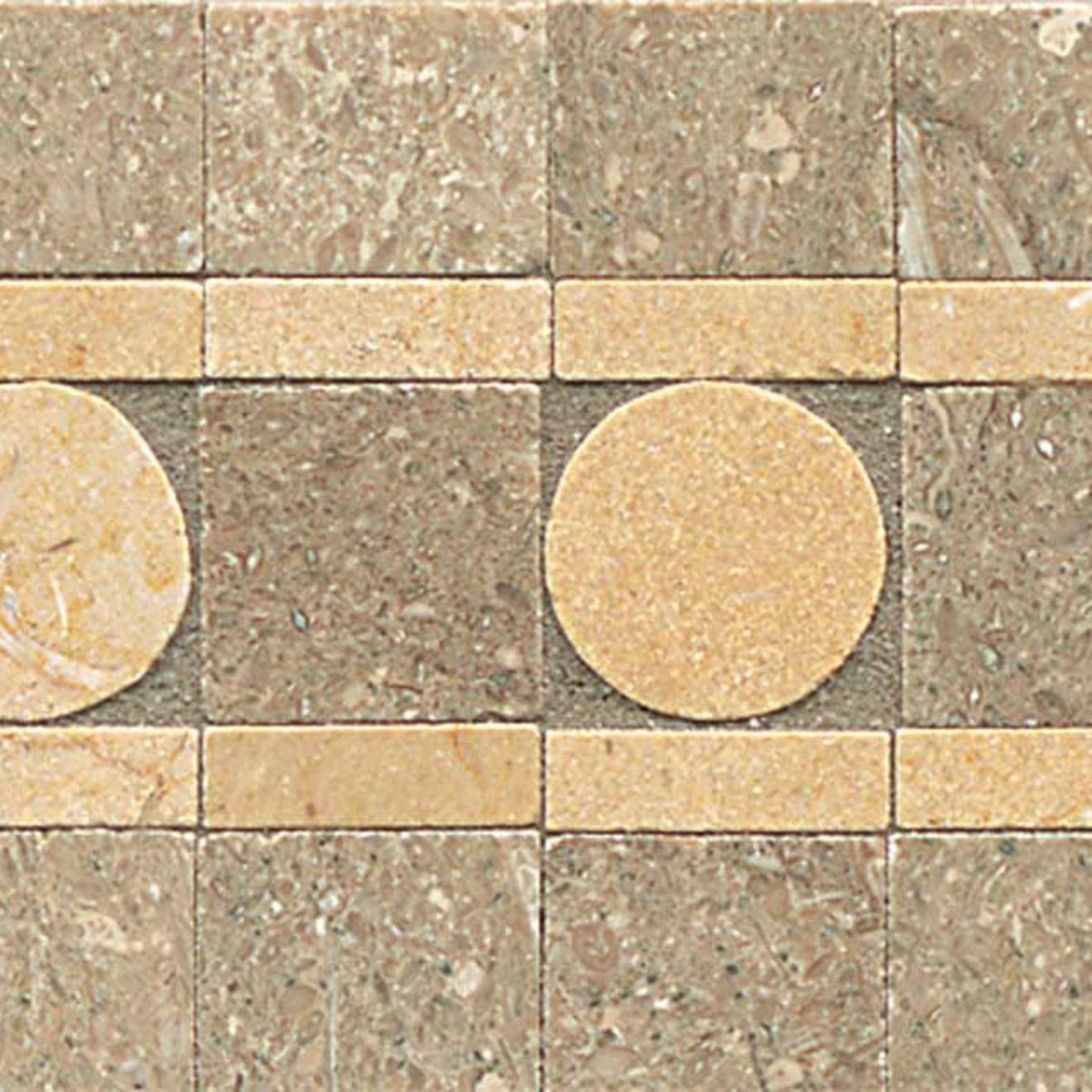3X12 Liner Sqre Peg-Tepenade/Brioch