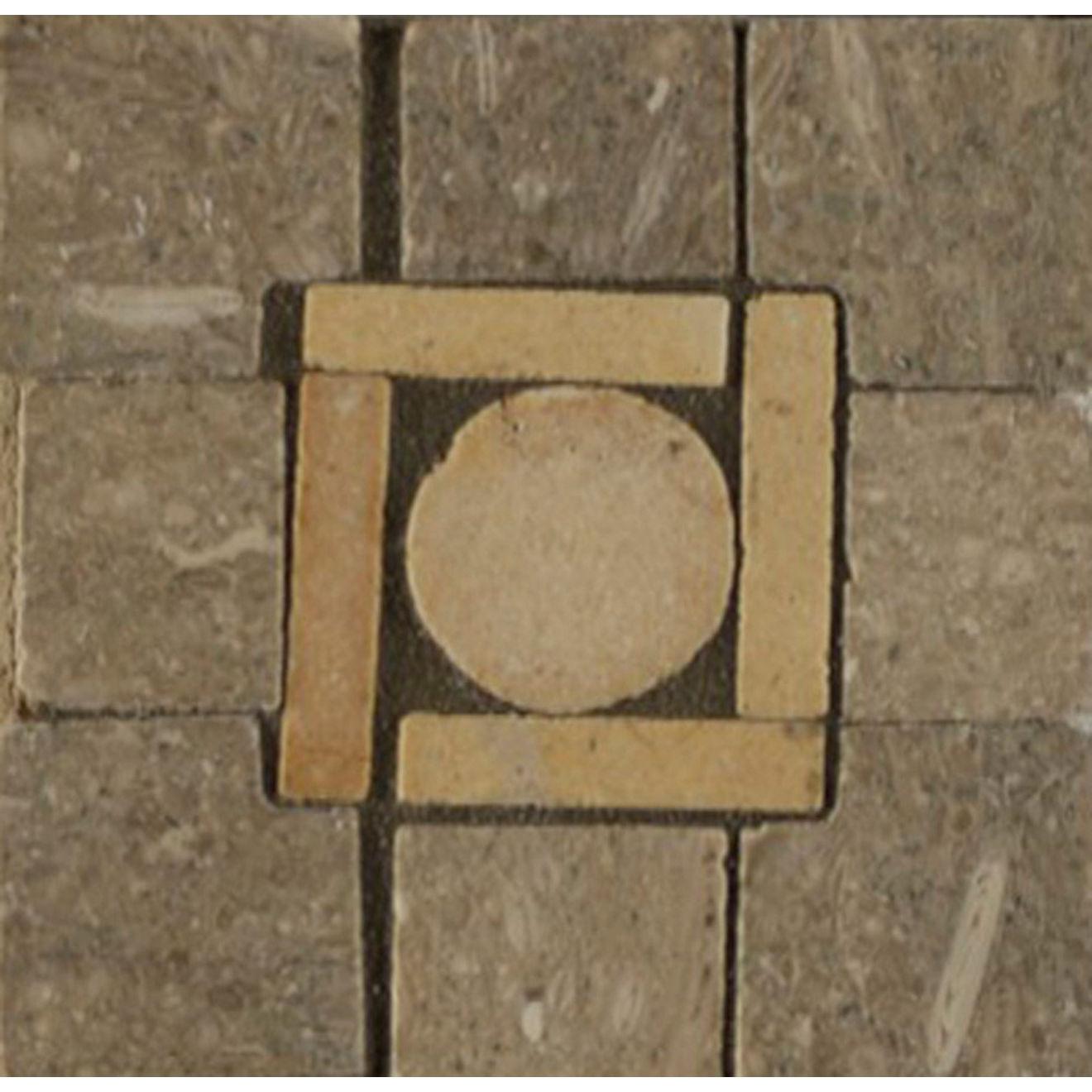 3X3 Square Peg Cnr Tepenade/Brioche