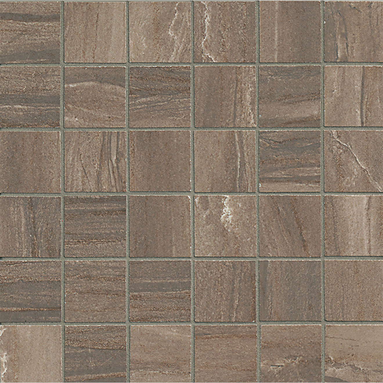 "Athena 2"" x 2"" Floor & Wall Mosaic in Cliff"