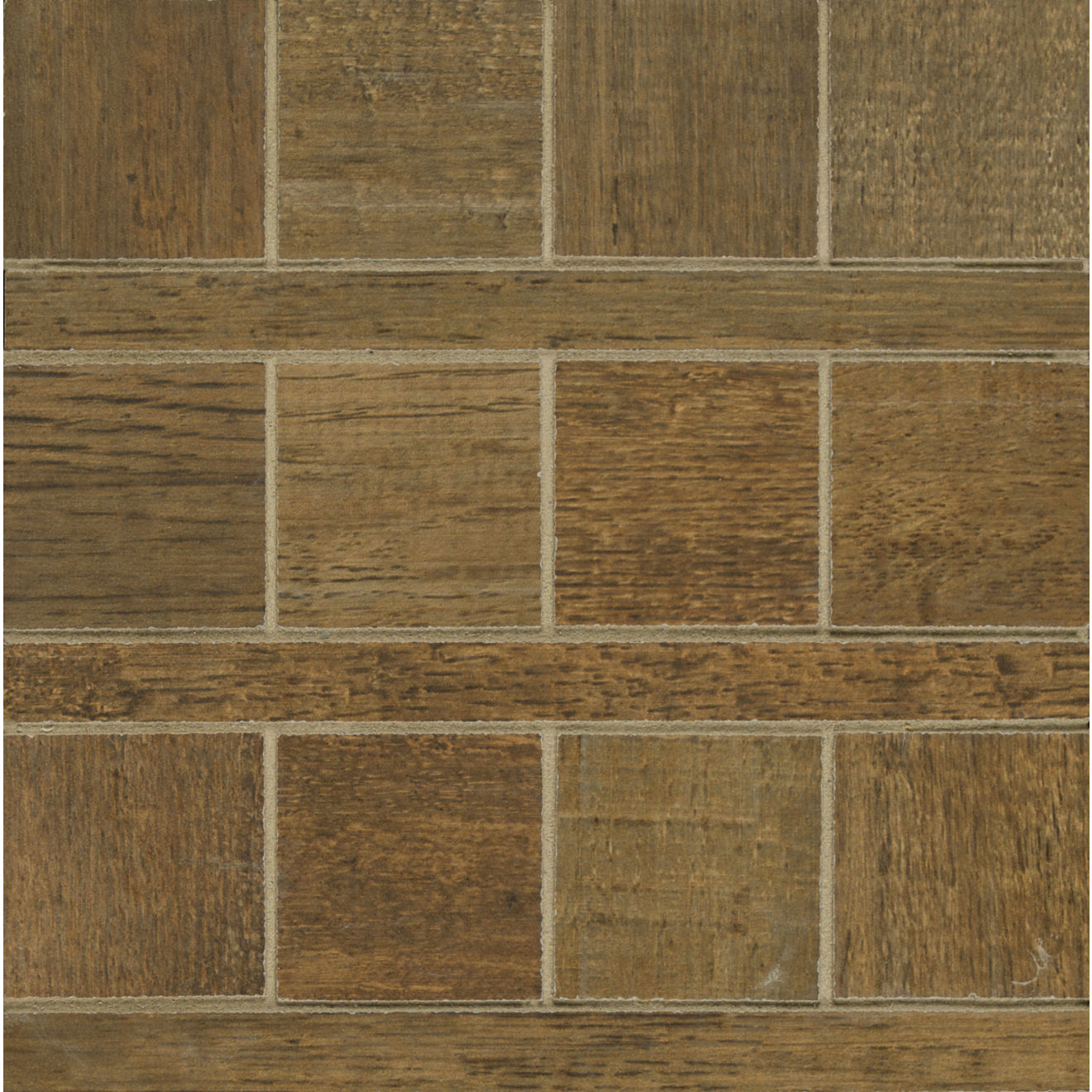 Barrique Floor & Wall Mosaic in Vert