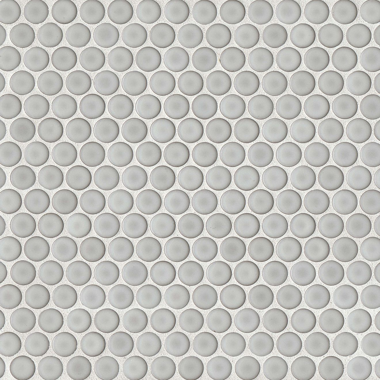 "360 3/4"" x 3/4"" Floor & Wall Mosaic in Dove Grey"