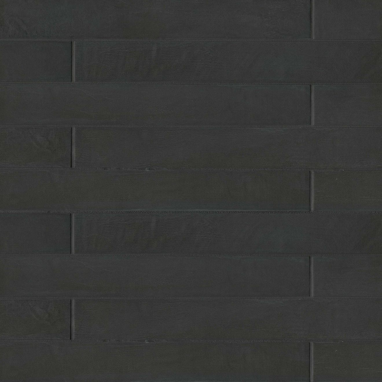"Allora 3"" x 24"" Floor & Wall Tile in Solid Black"