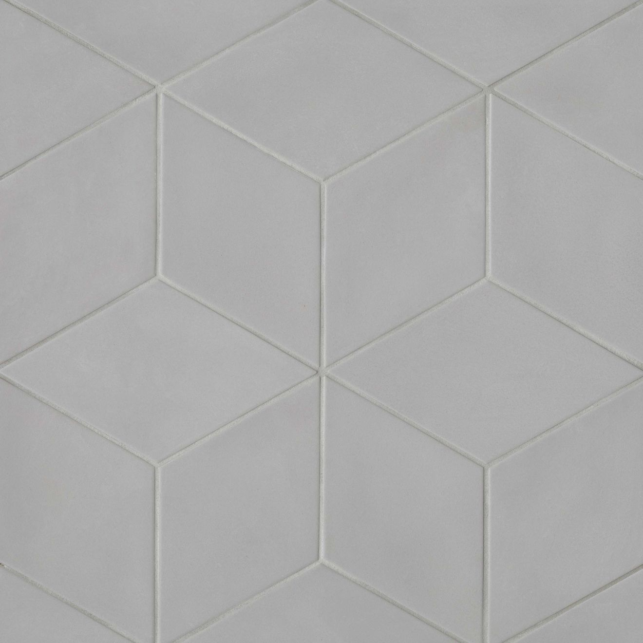 "Allora 7.5"" x 12.75"" Floor & Wall Tile in Solid Grey"