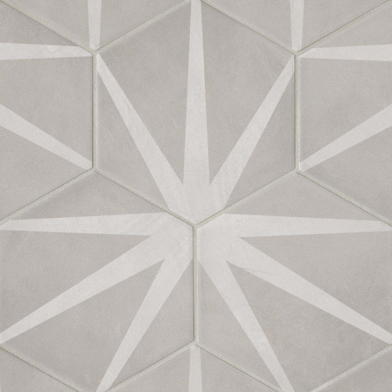 """Allora 8.5"""" x 10"""" Decorative Tile in Stella"""