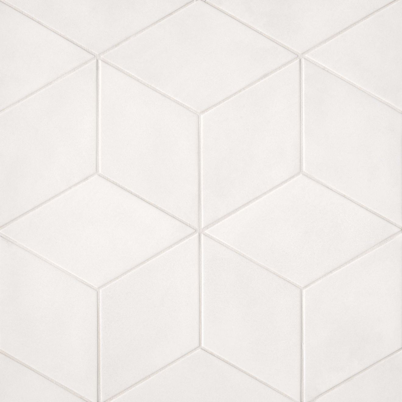 "Allora 7.5"" x 12.75"" Floor & Wall Tile in Solid White"