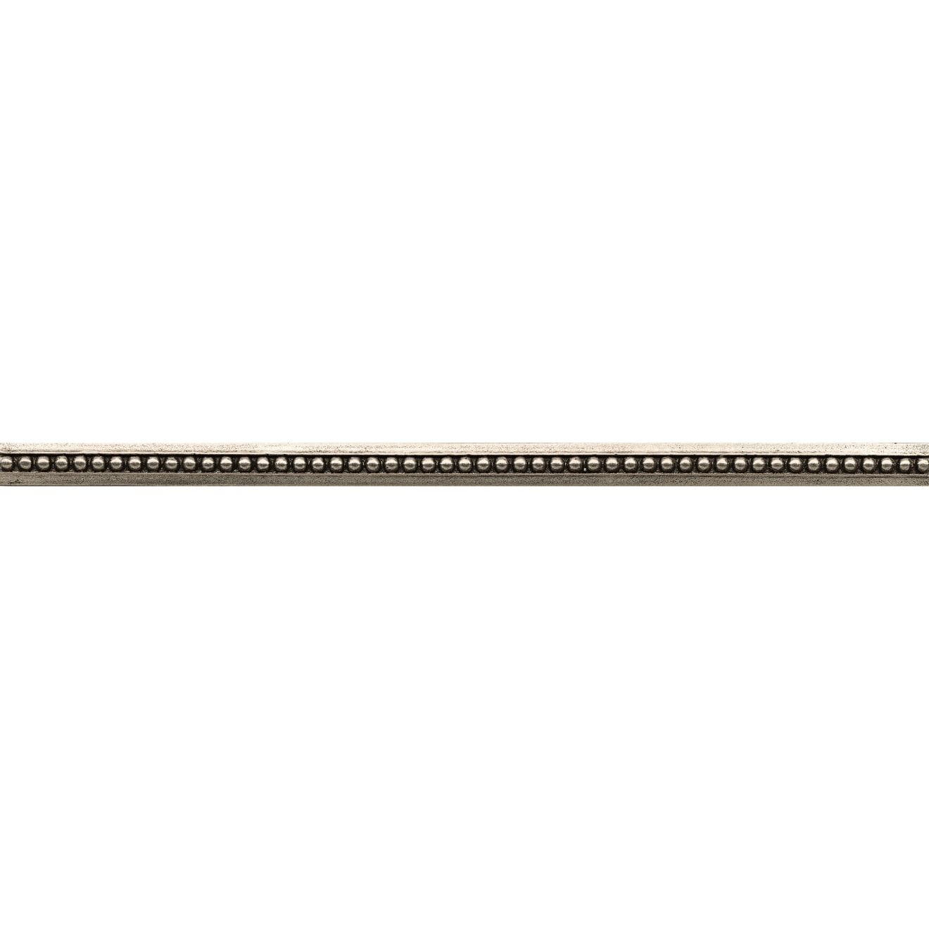 """Ambiance 1"""" x 12"""" Bead Liner in Brushed Nickel"""