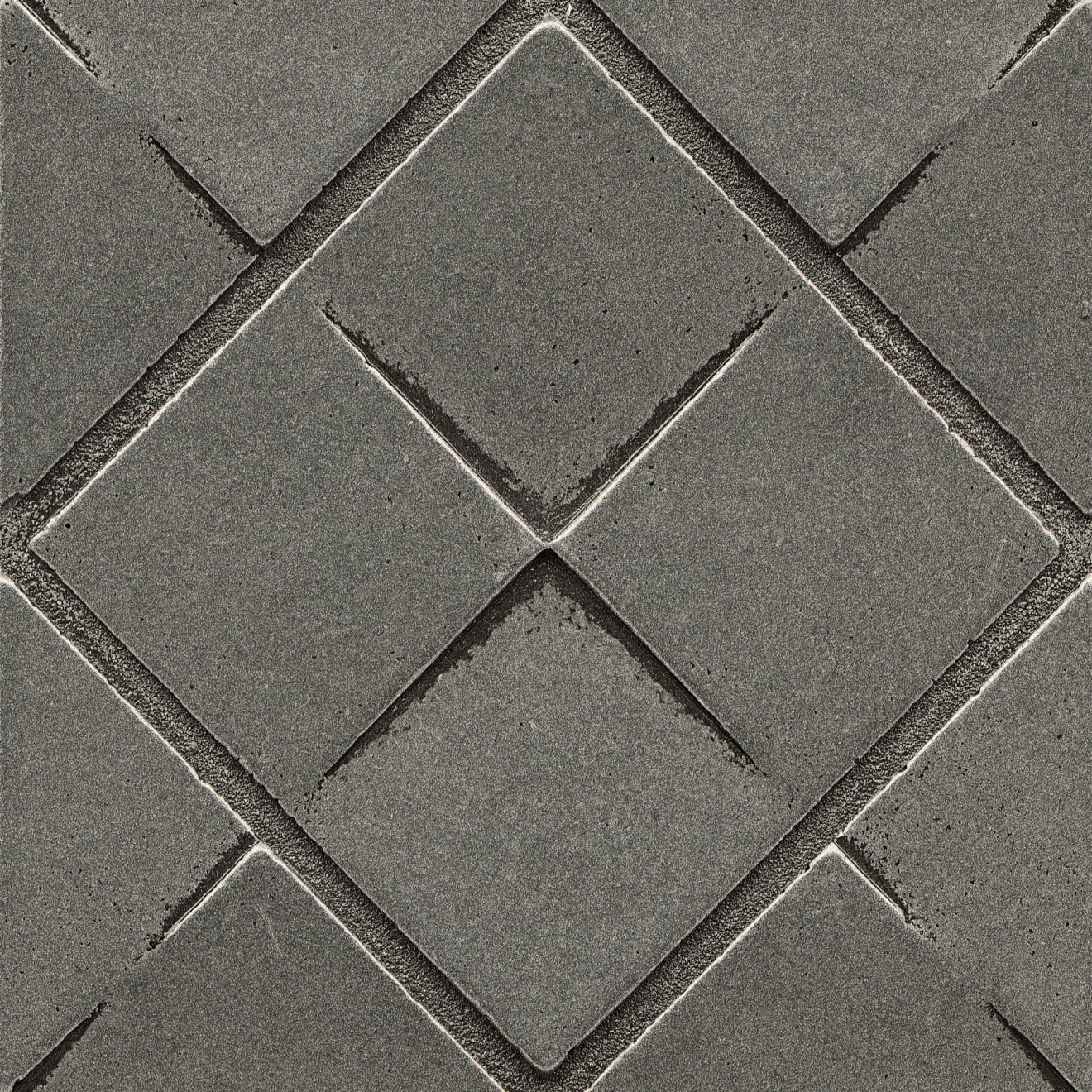 """Ambiance 4"""" x 4"""" Matrix City Metal Resin Insert in Pewter"""