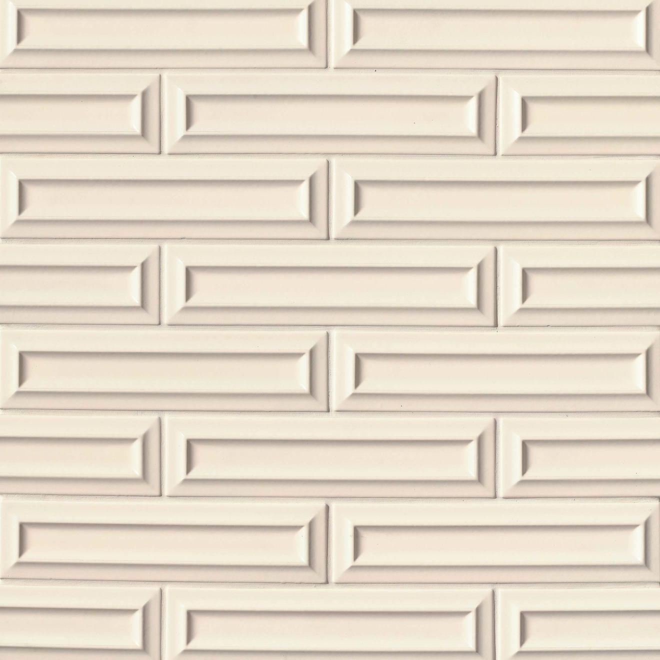 "Costa Allegra 3"" x 12"" Decorative Tile in Alabaster"