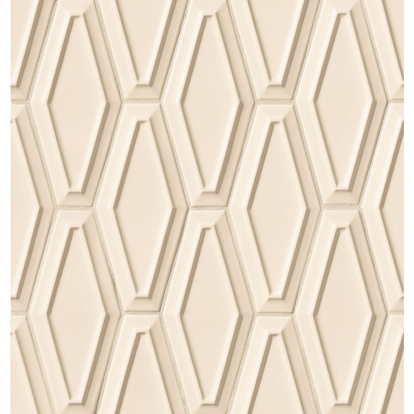 "Costa Allegra 4"" x 9"" Decorative Tile in Alabaster"