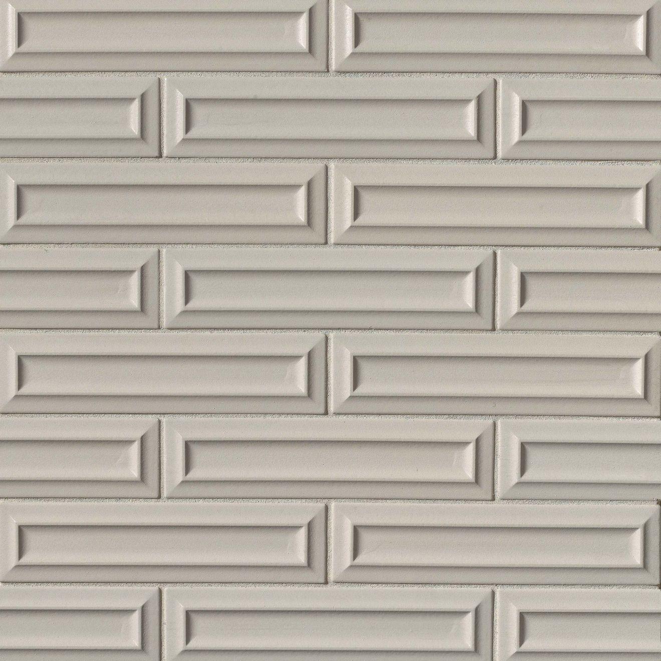 "Costa Allegra 3"" x 12"" Decorative Tile in Cinder"