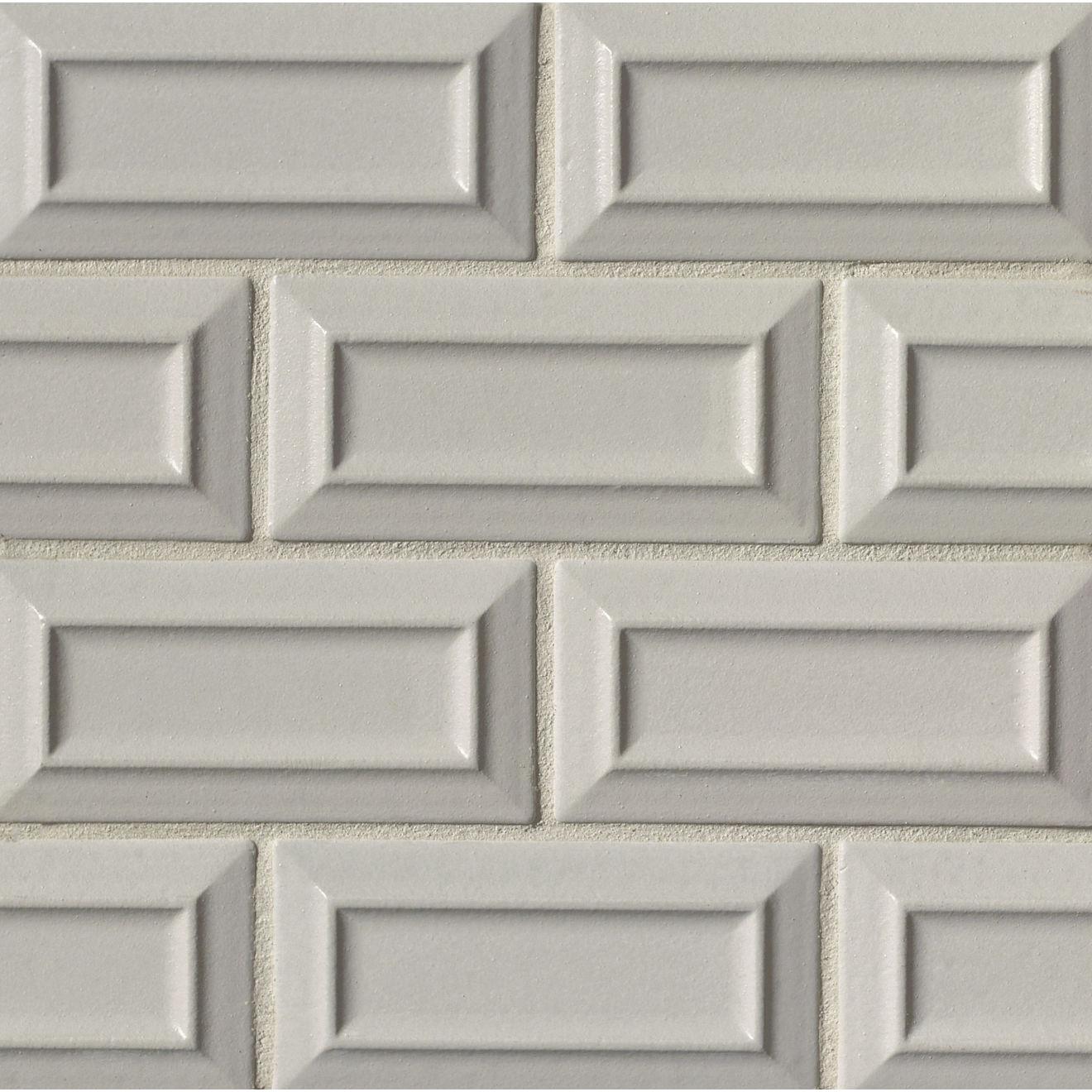 "Costa Allegra 3"" x 6"" Decorative Tile in Cinder"
