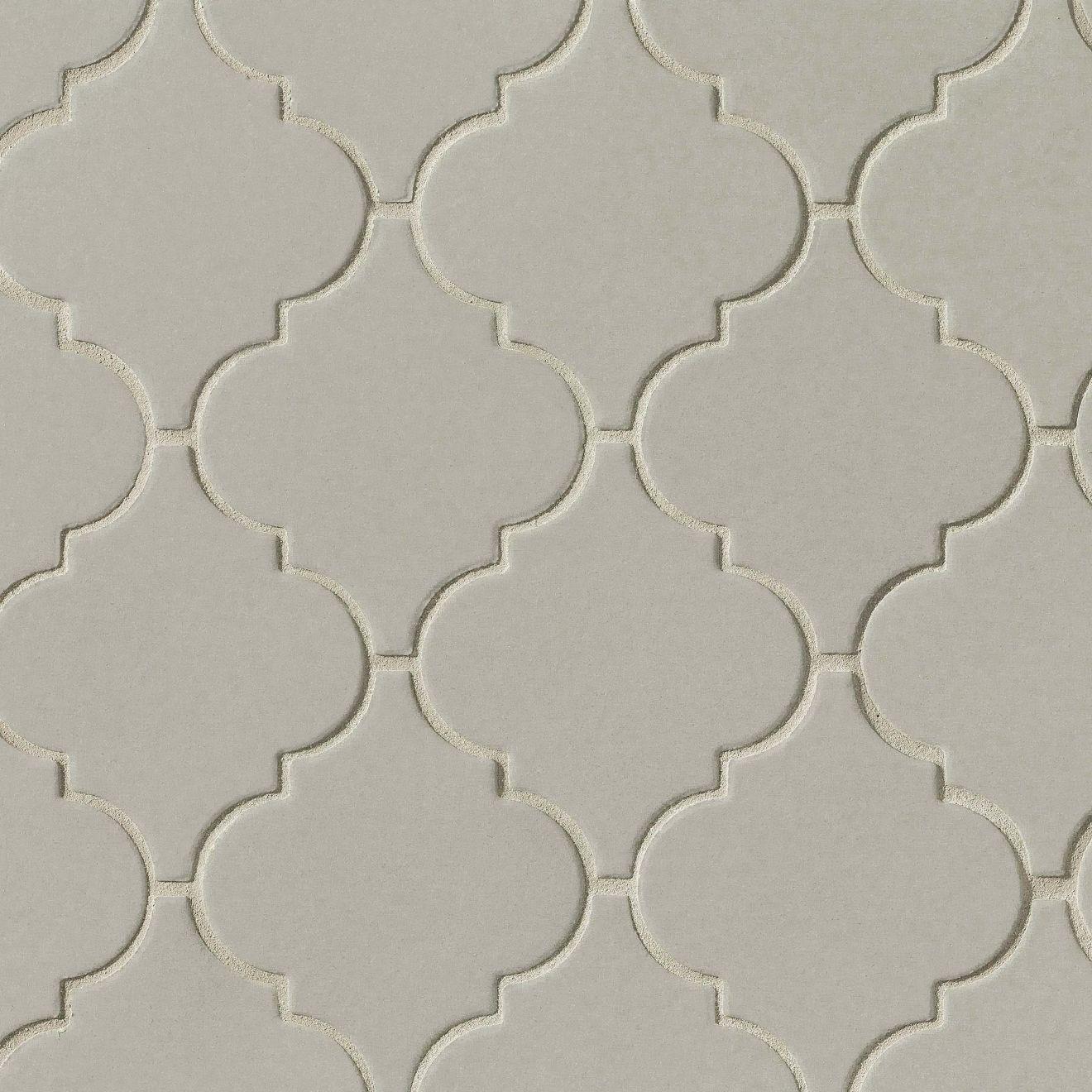 Costa Allegra Floor & Wall Mosaic in Cinder