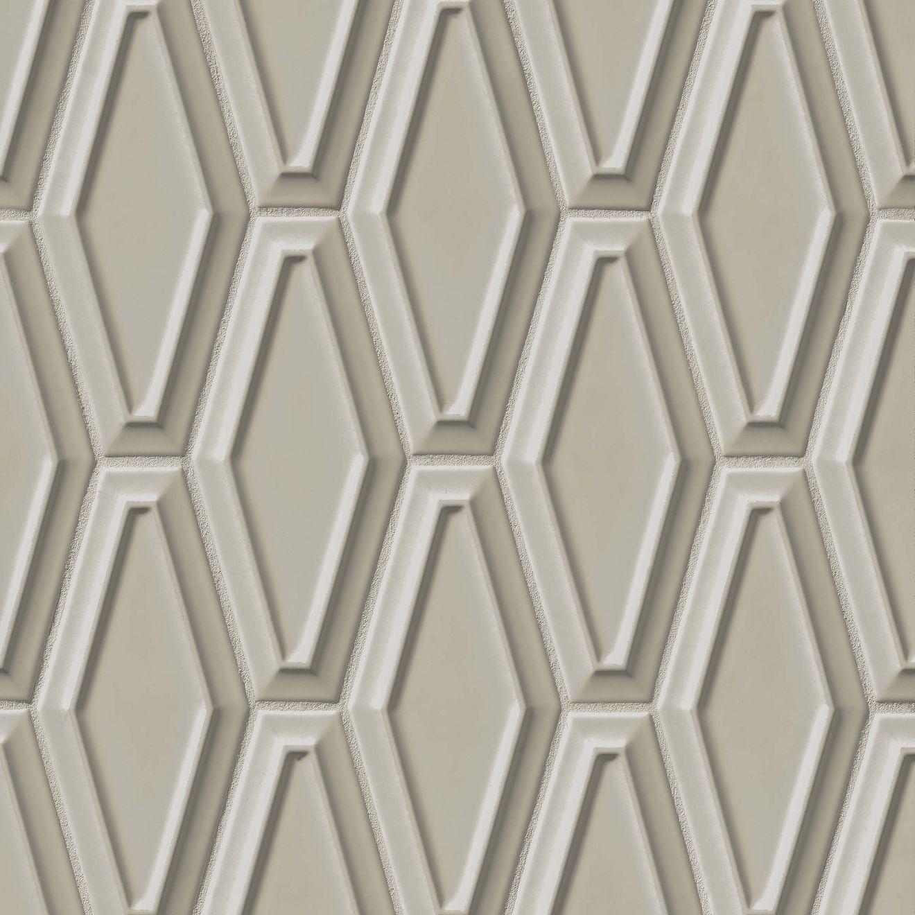 "Costa Allegra 4"" x 9"" Decorative Tile in Cinder"