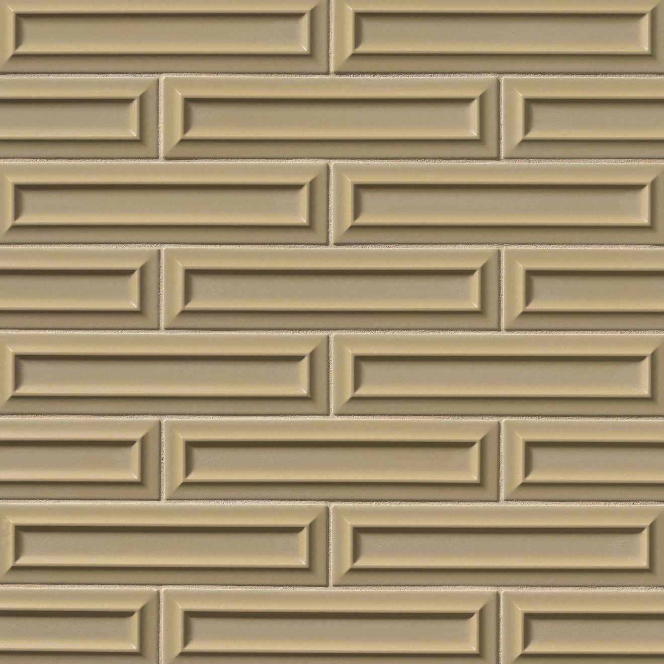 "Costa Allegra 3"" x 12"" Decorative Tile in Driftwood"