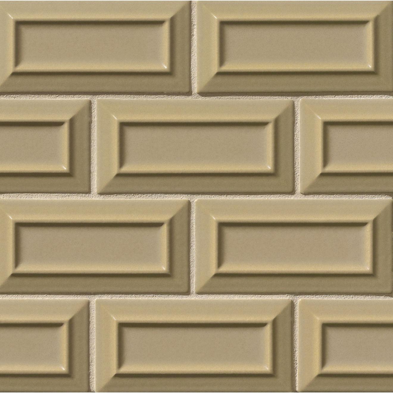 "Costa Allegra 3"" x 6"" Decorative Tile in Driftwood"