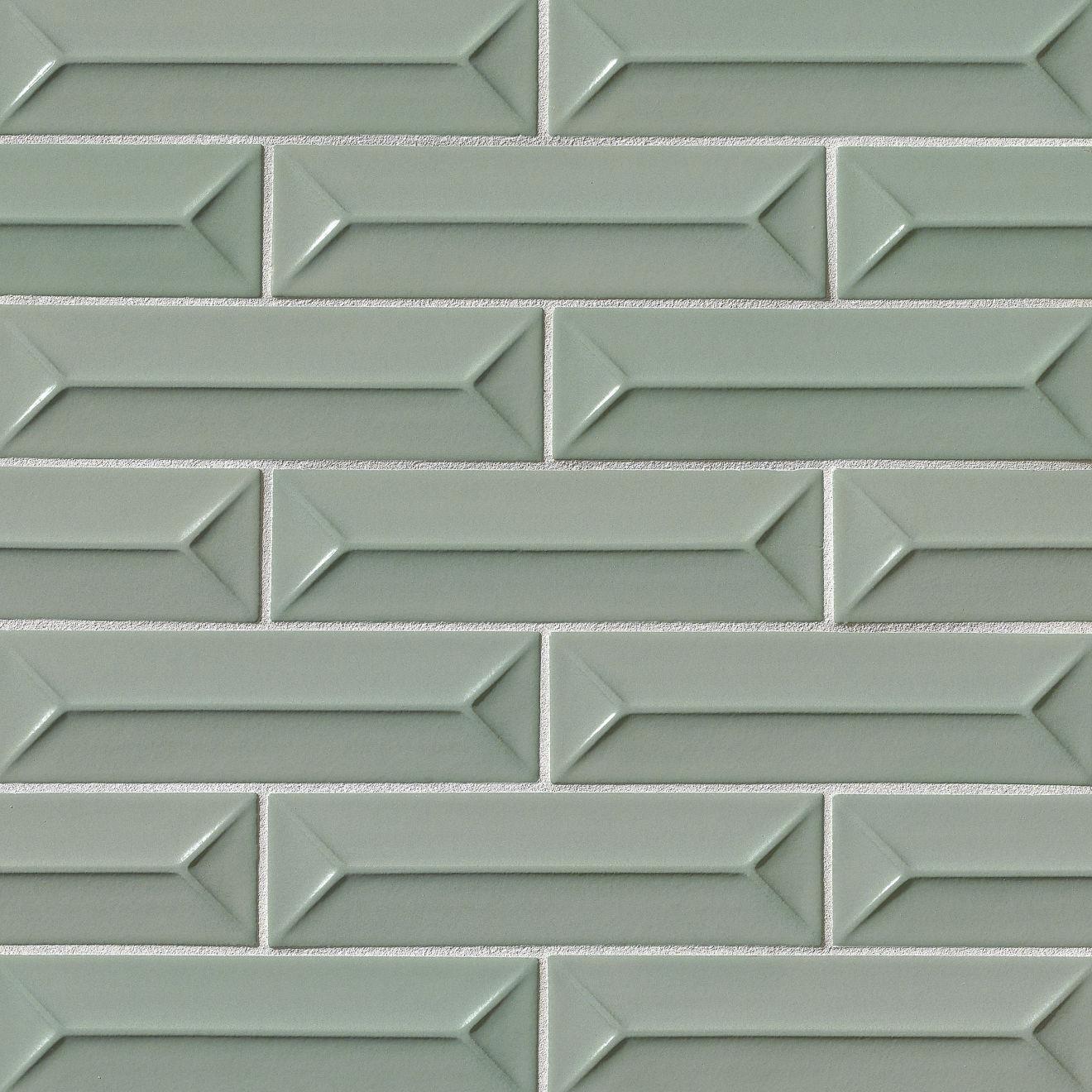 "Costa Allegra 2.5"" x 9"" Decorative Tile in Gulf"