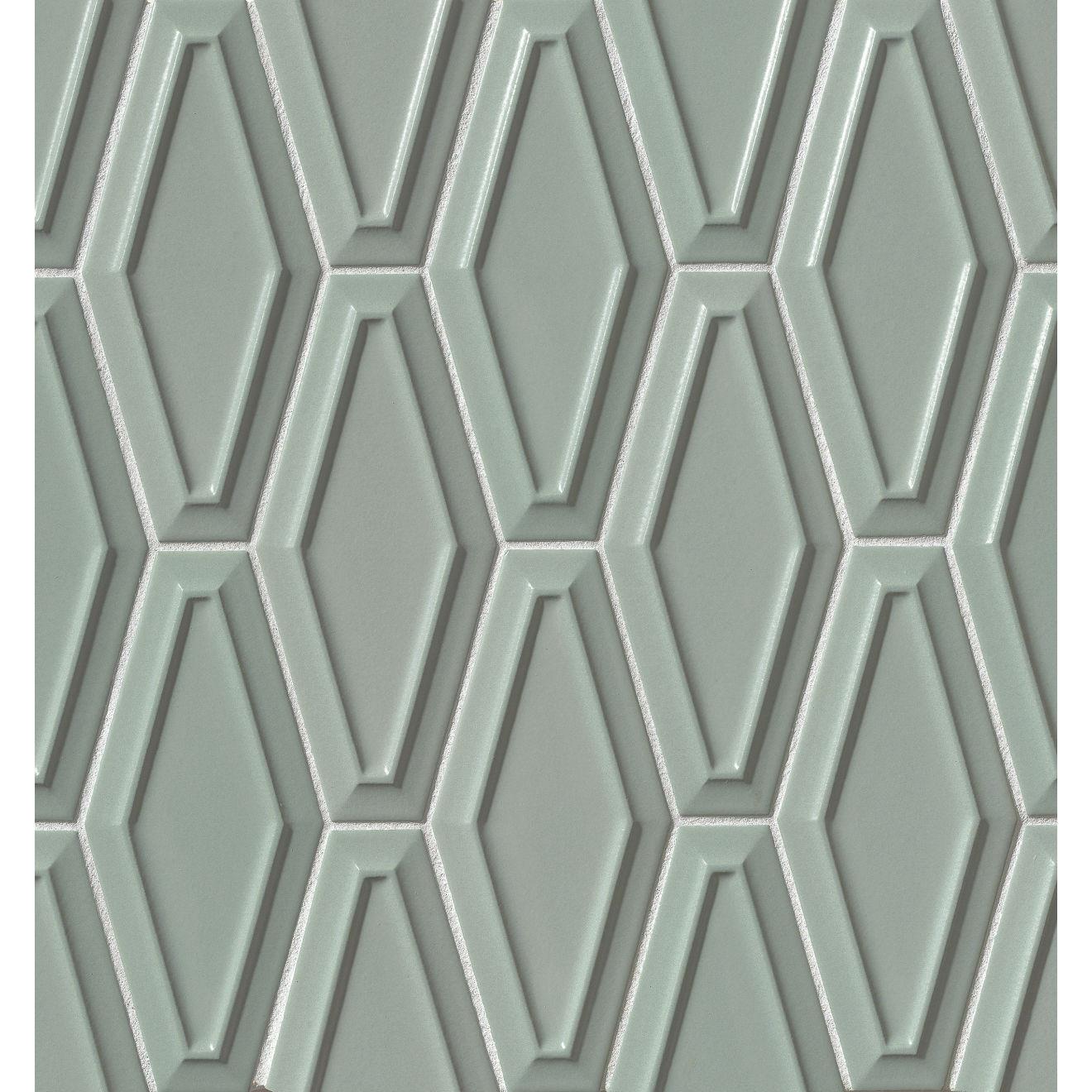 "Costa Allegra 4"" x 9"" Decorative Tile in Gulf"