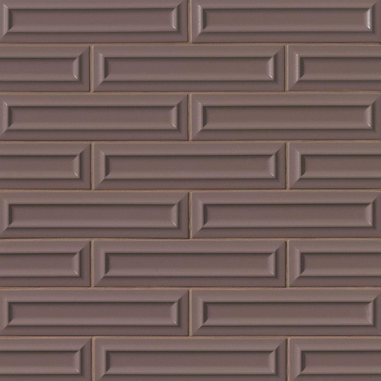 "Costa Allegra 3"" x 12"" Decorative Tile in Timber"