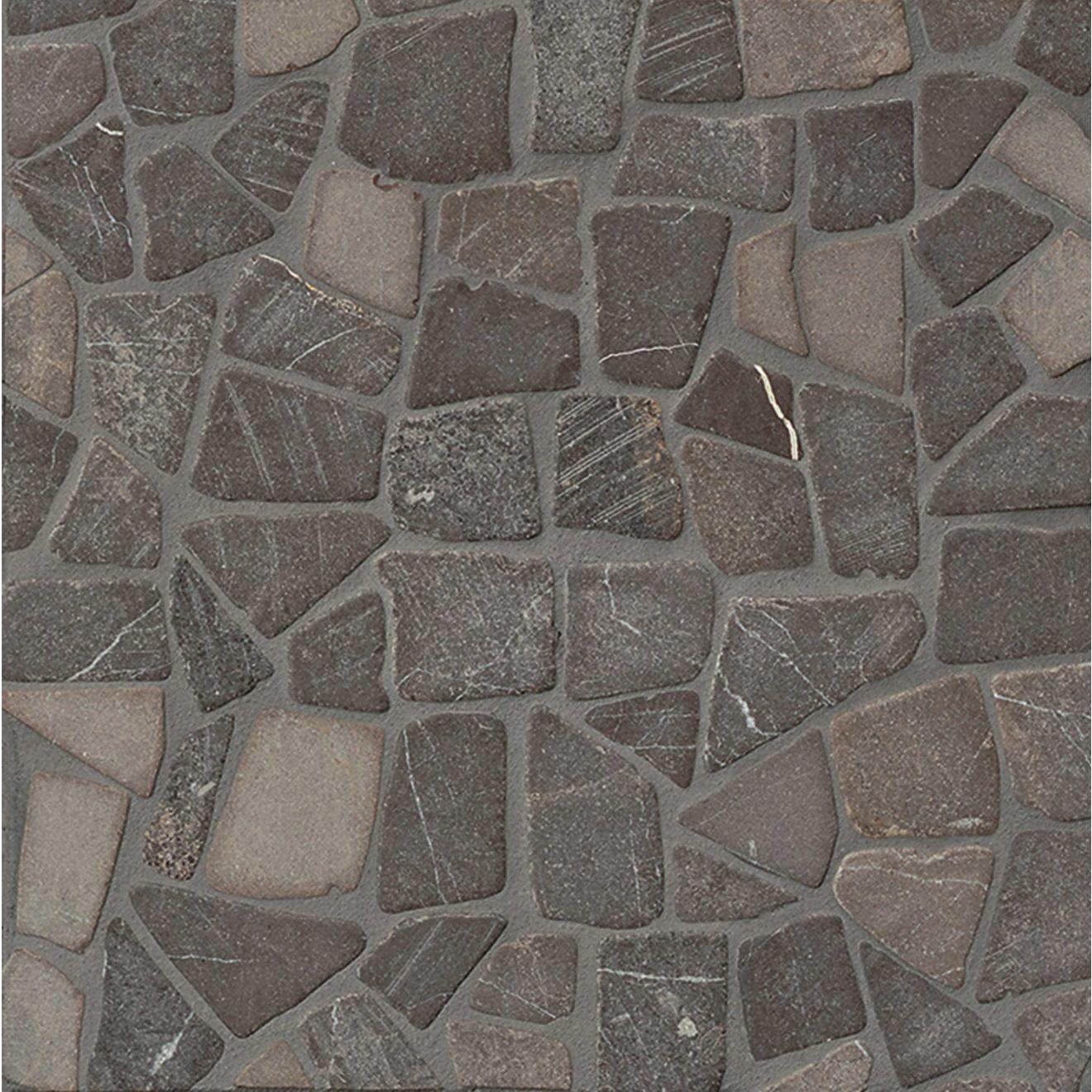 Hemisphere Floor & Wall Mosaic in Sumatra