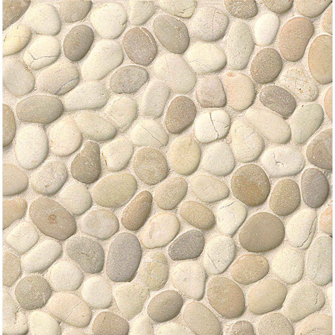 Hemisphere Floor & Wall Mosaic in Balboa