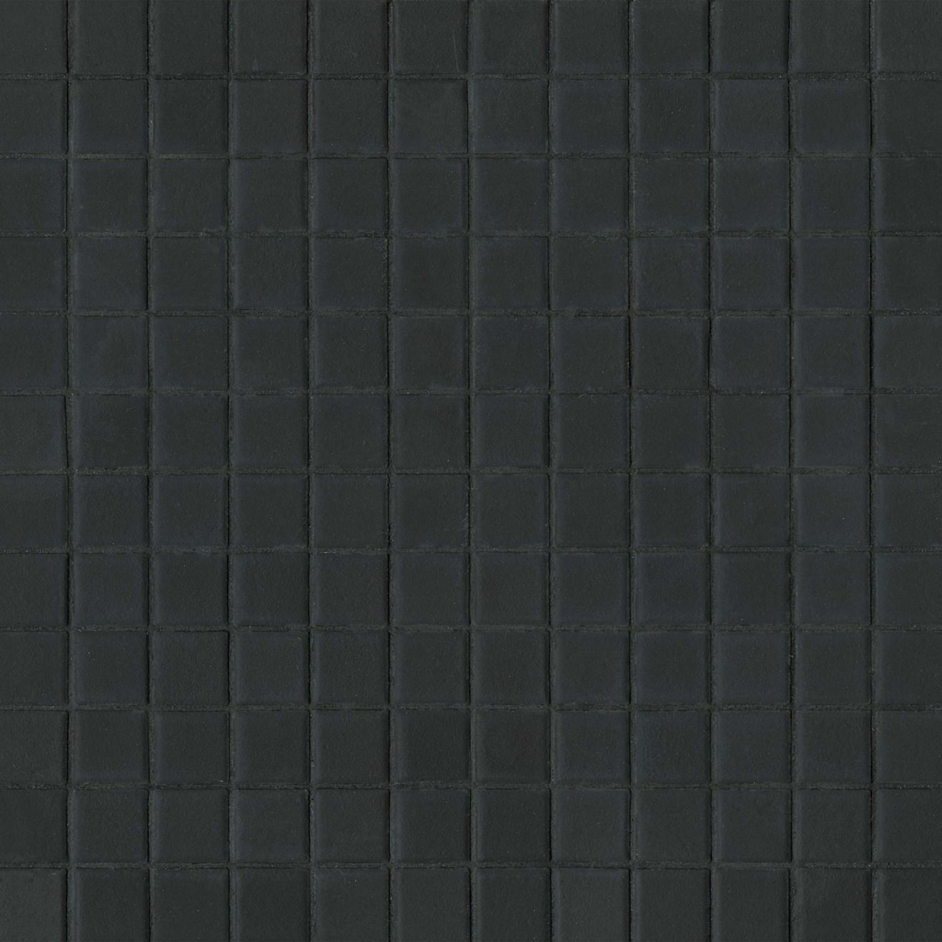 "True 1"" x 1"" Floor & Wall Mosaic in Black"
