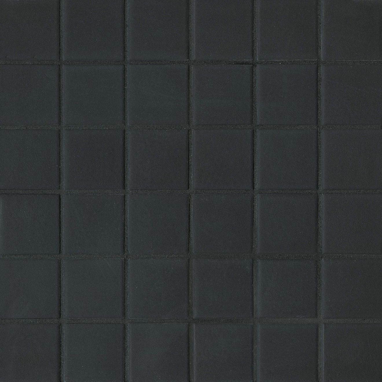 "True 2"" x 2"" Floor & Wall Mosaic in Black"