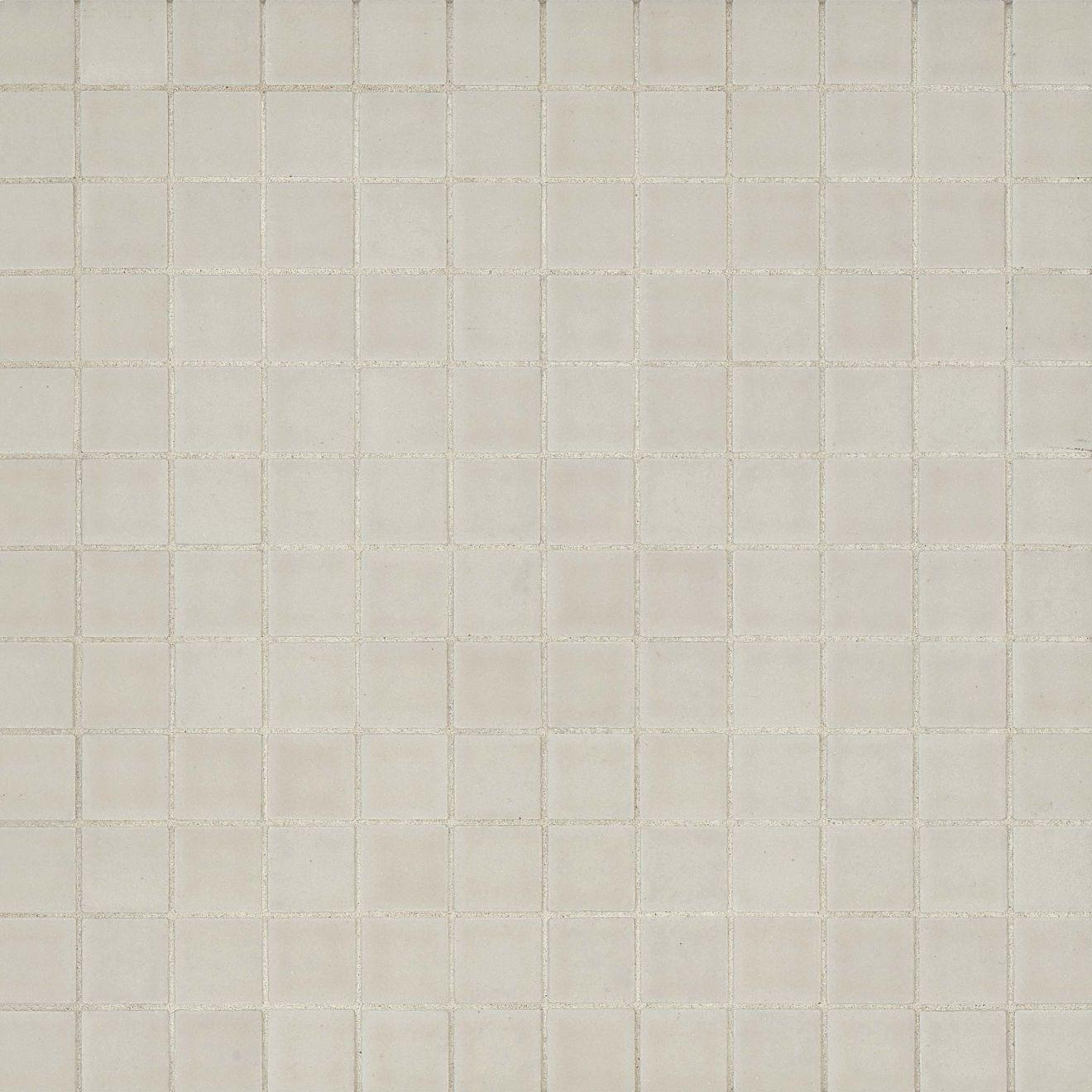 "True 1"" x 1"" Floor & Wall Mosaic in Canvas"