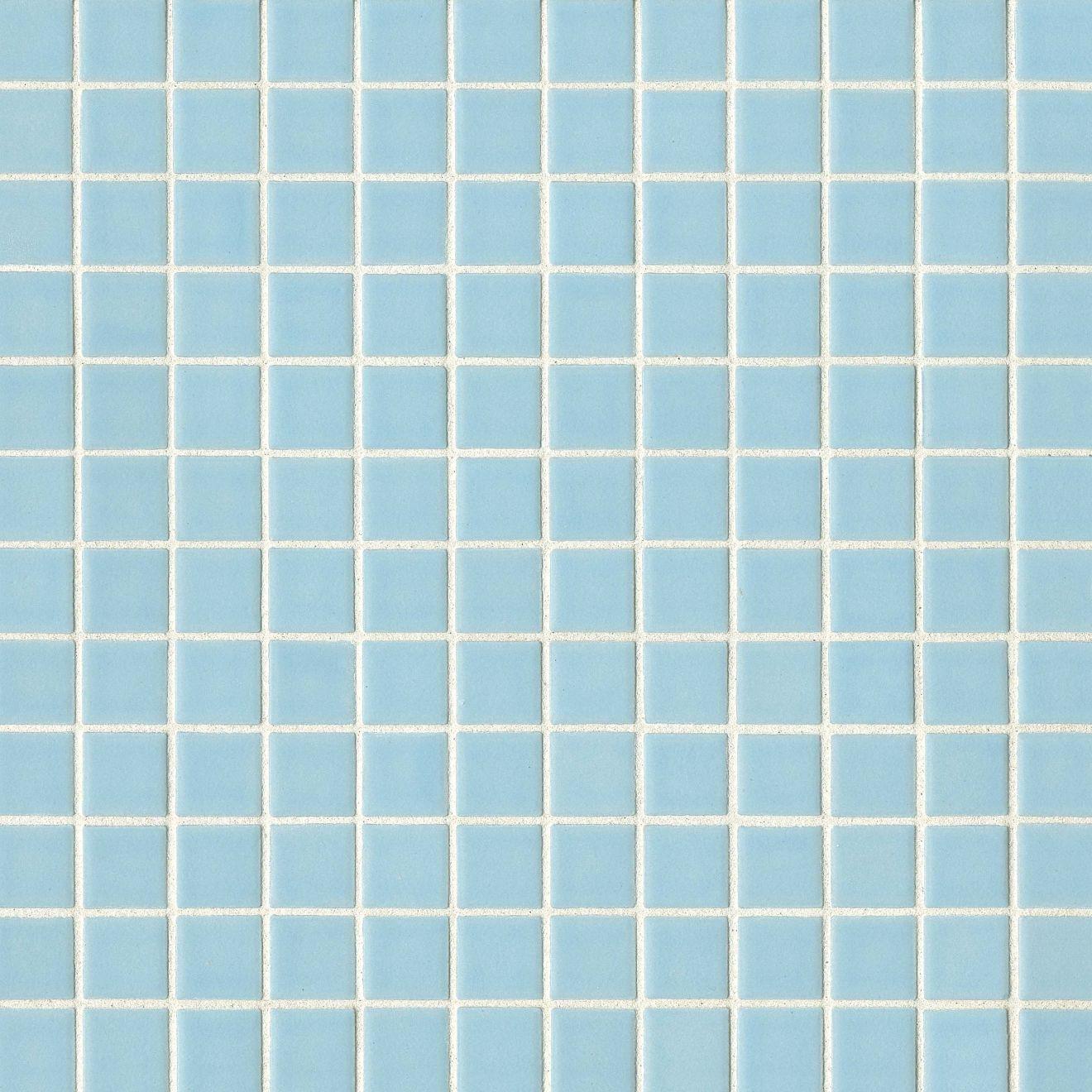 "True 1"" x 1"" Floor & Wall Mosaic in Sky"