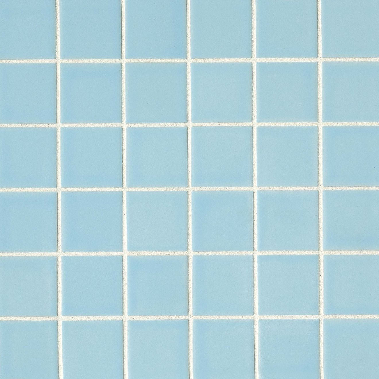 "True 2"" x 2"" Floor & Wall Mosaic in Sky"