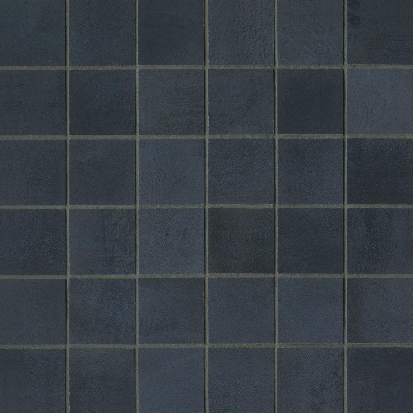 "Chateau 2"" x 2"" Floor & Wall Mosaic in Ocean"