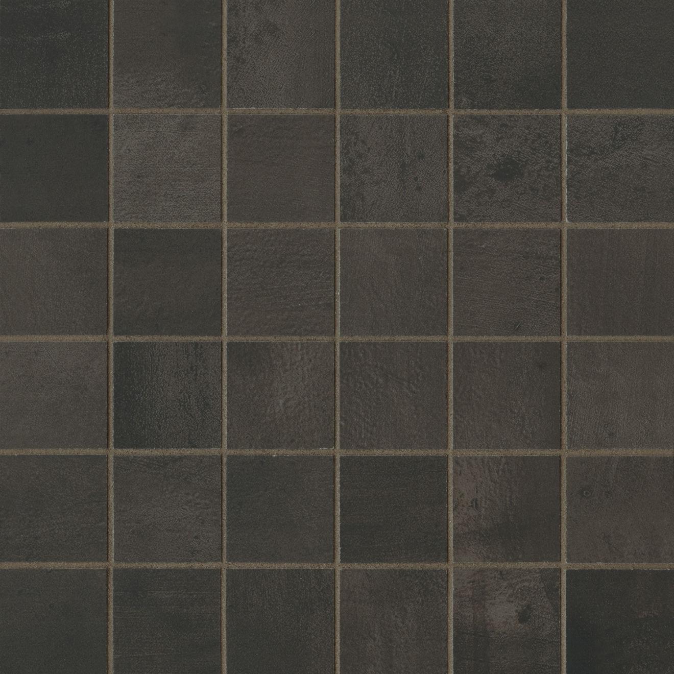"Chateau 2"" x 2"" Floor & Wall Mosaic in Tobacco"