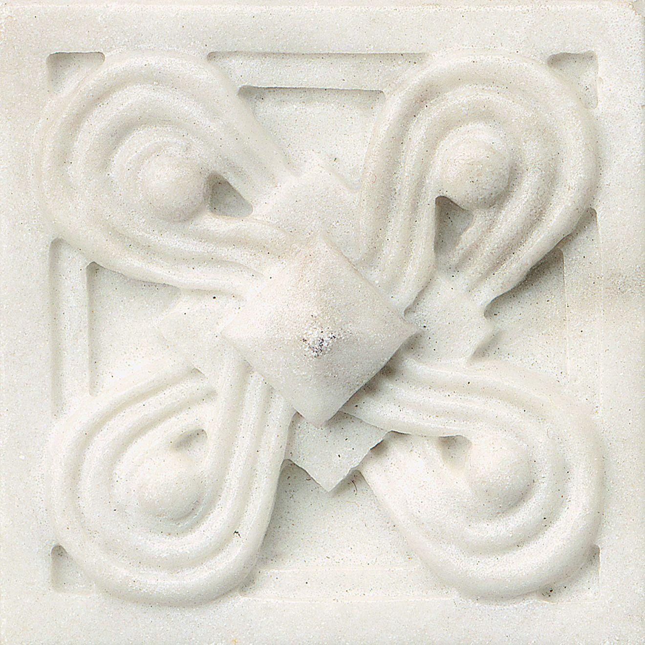 """Marmi Di Napoli 2.25"""" x 2.25"""" Decorative Tile in Calacatta"""