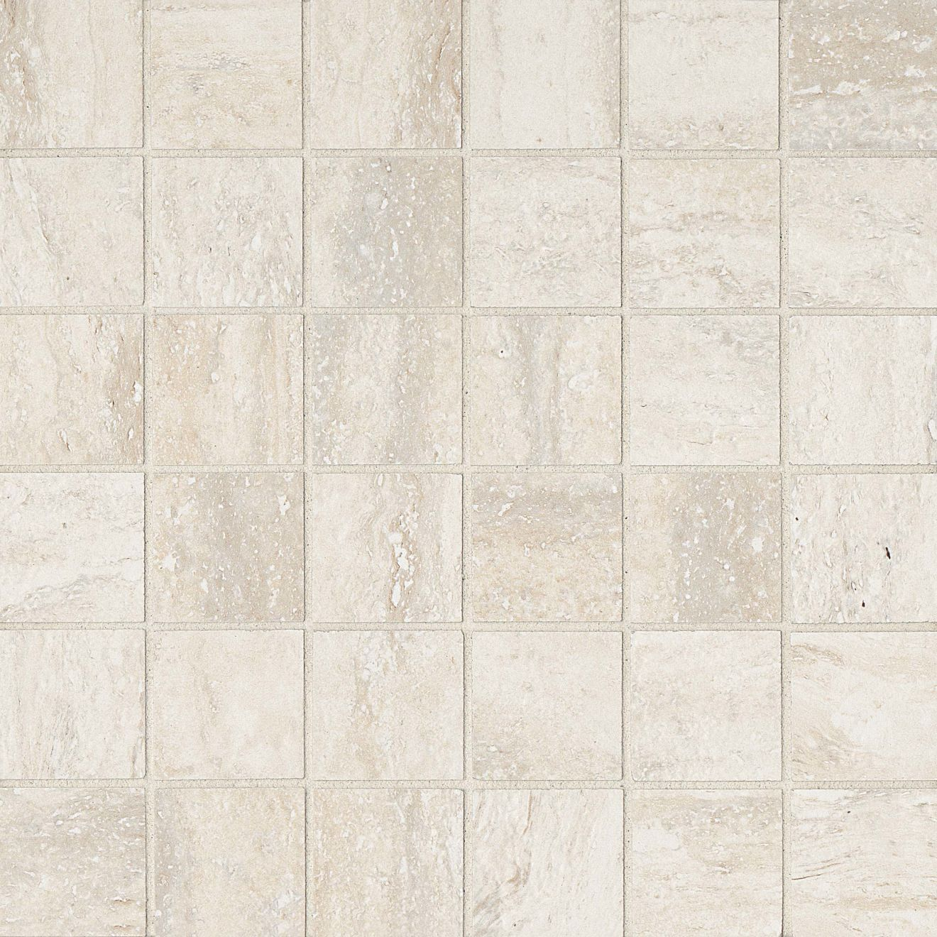 "Toscano 2"" x 2"" Floor & Wall Mosaic in Classico"