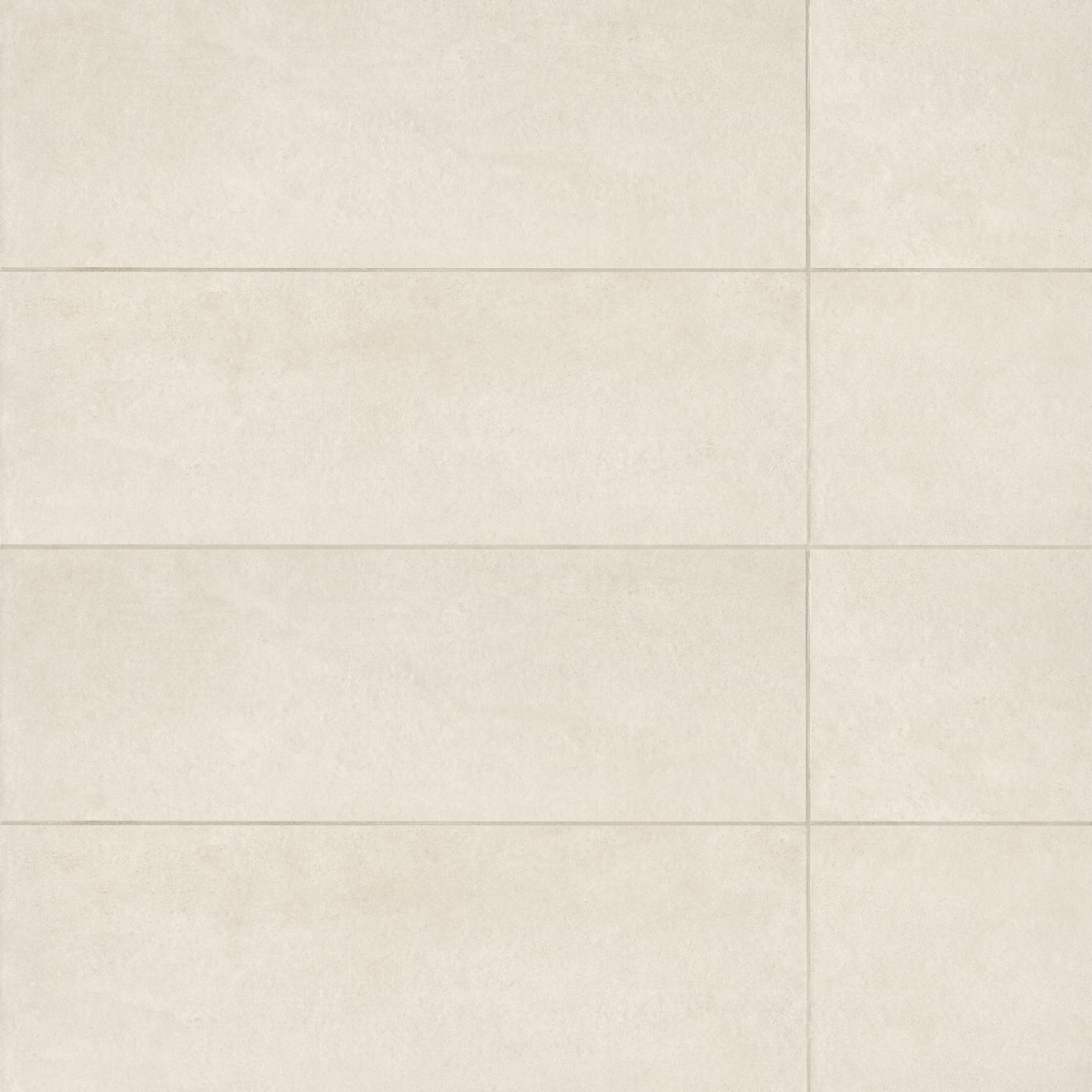 "Calix 12"" x 36"" Matte Ceramic Wall Tile in Beige"