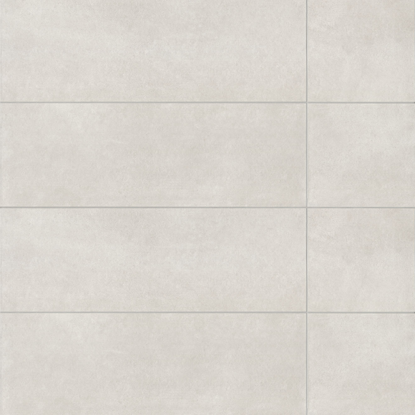 "Calix 12"" x 36"" Matte Ceramic Wall Tile in Grey"