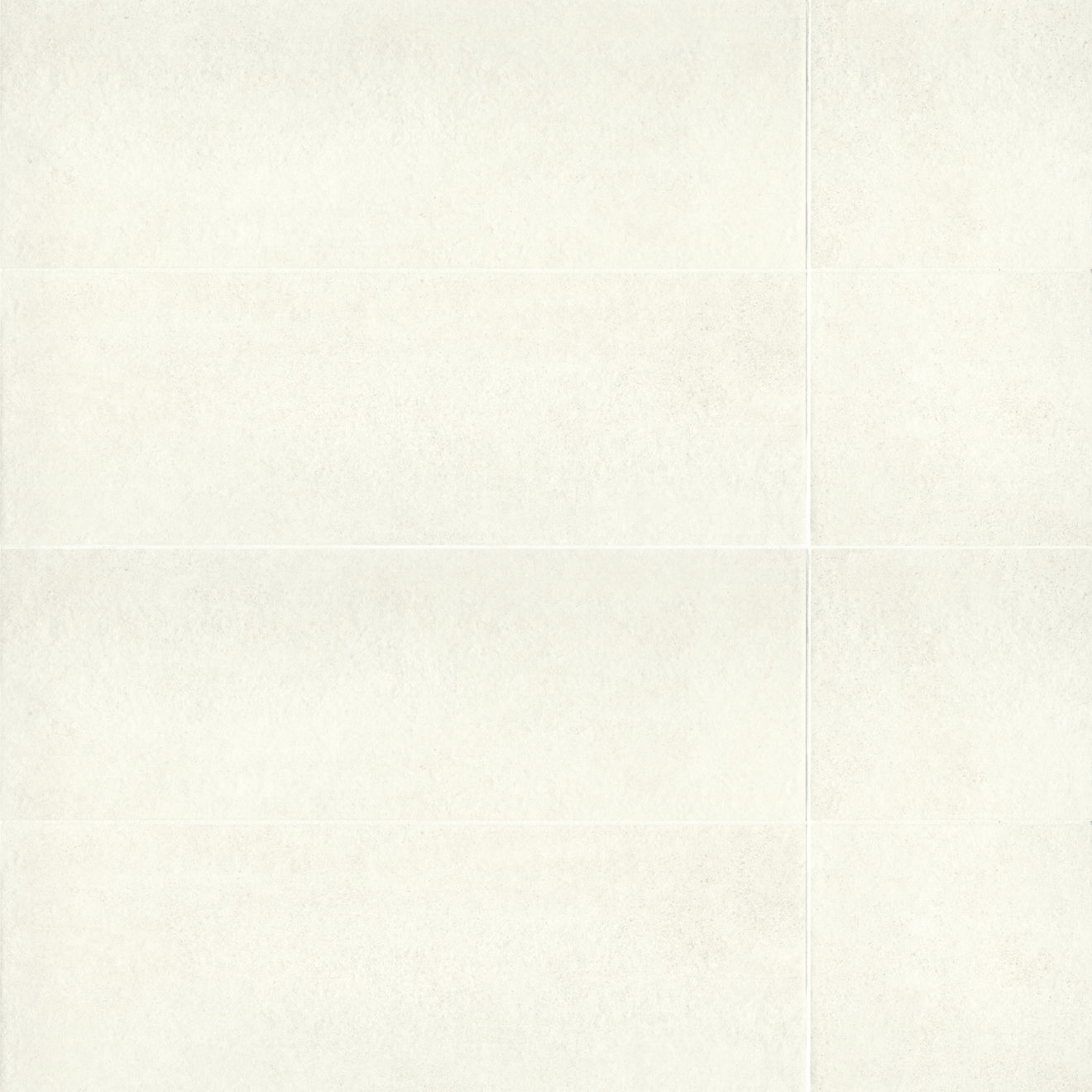 "Calix 12"" x 36"" Matte Ceramic Wall Tile in White"
