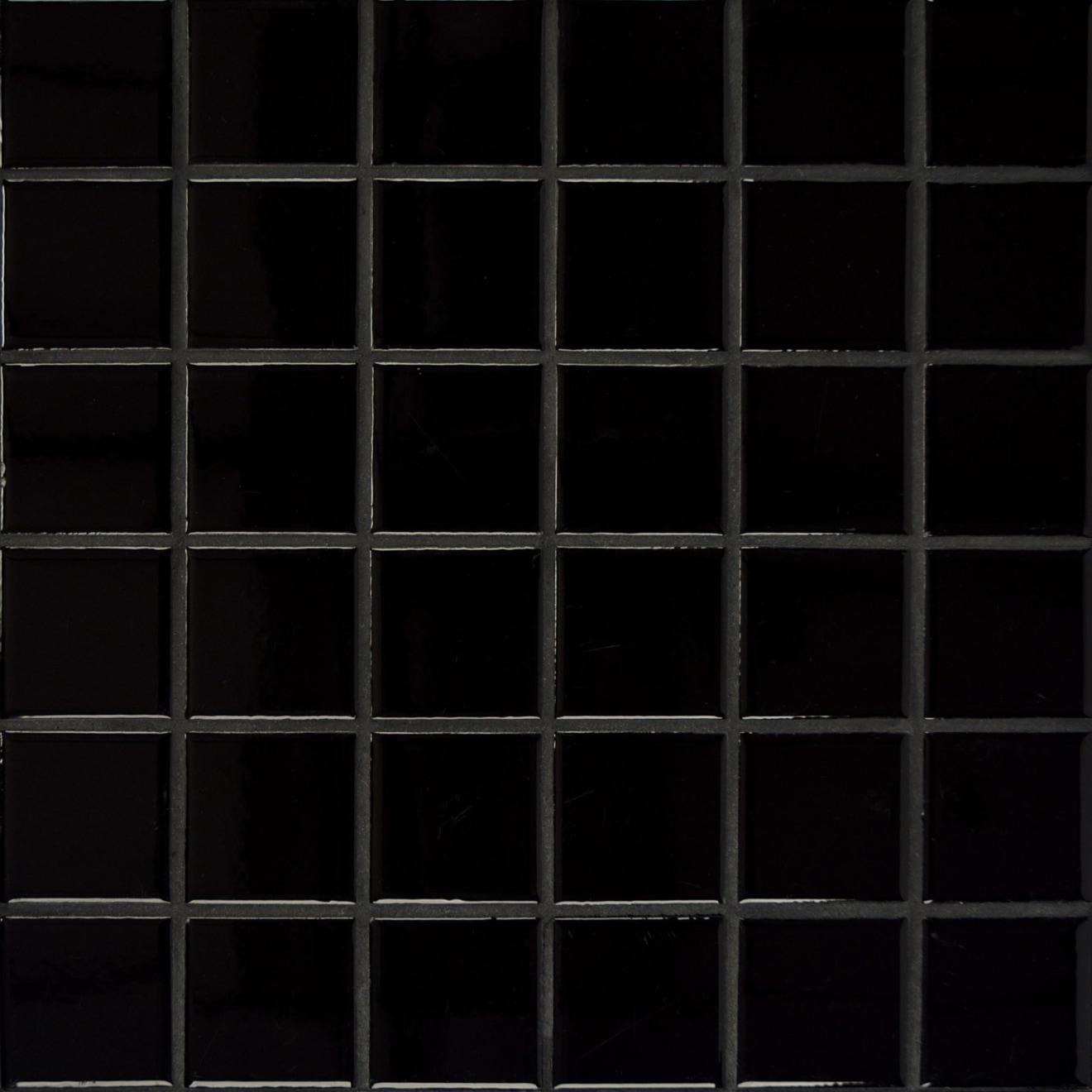 Elements Floor & Wall Mosaic in Black