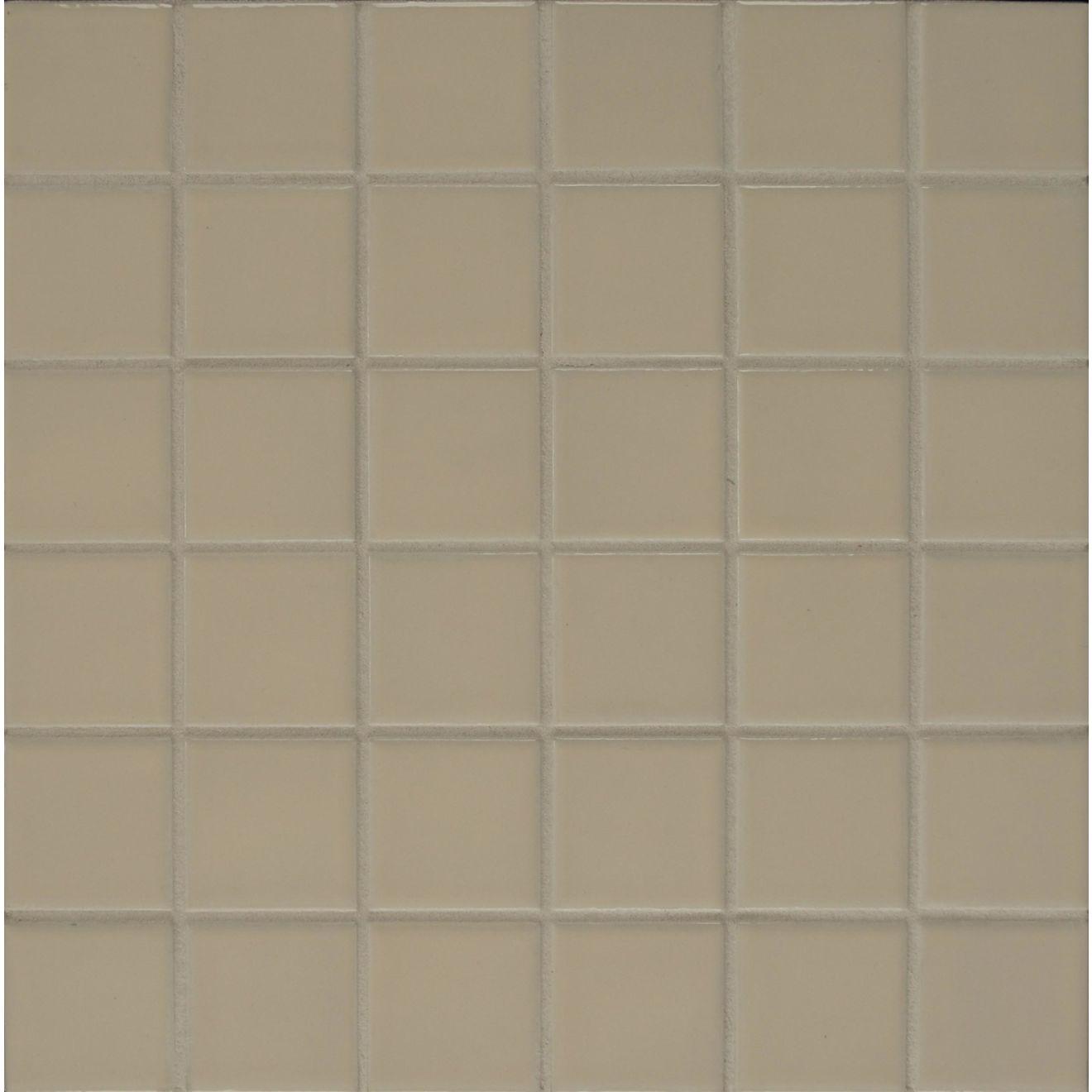 Elements Floor & Wall Mosaic in Dark Biscuit